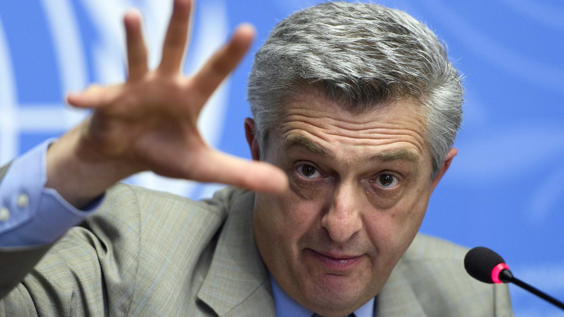 Alto Comissário para os Refugiados exorta países a abrirem as portas