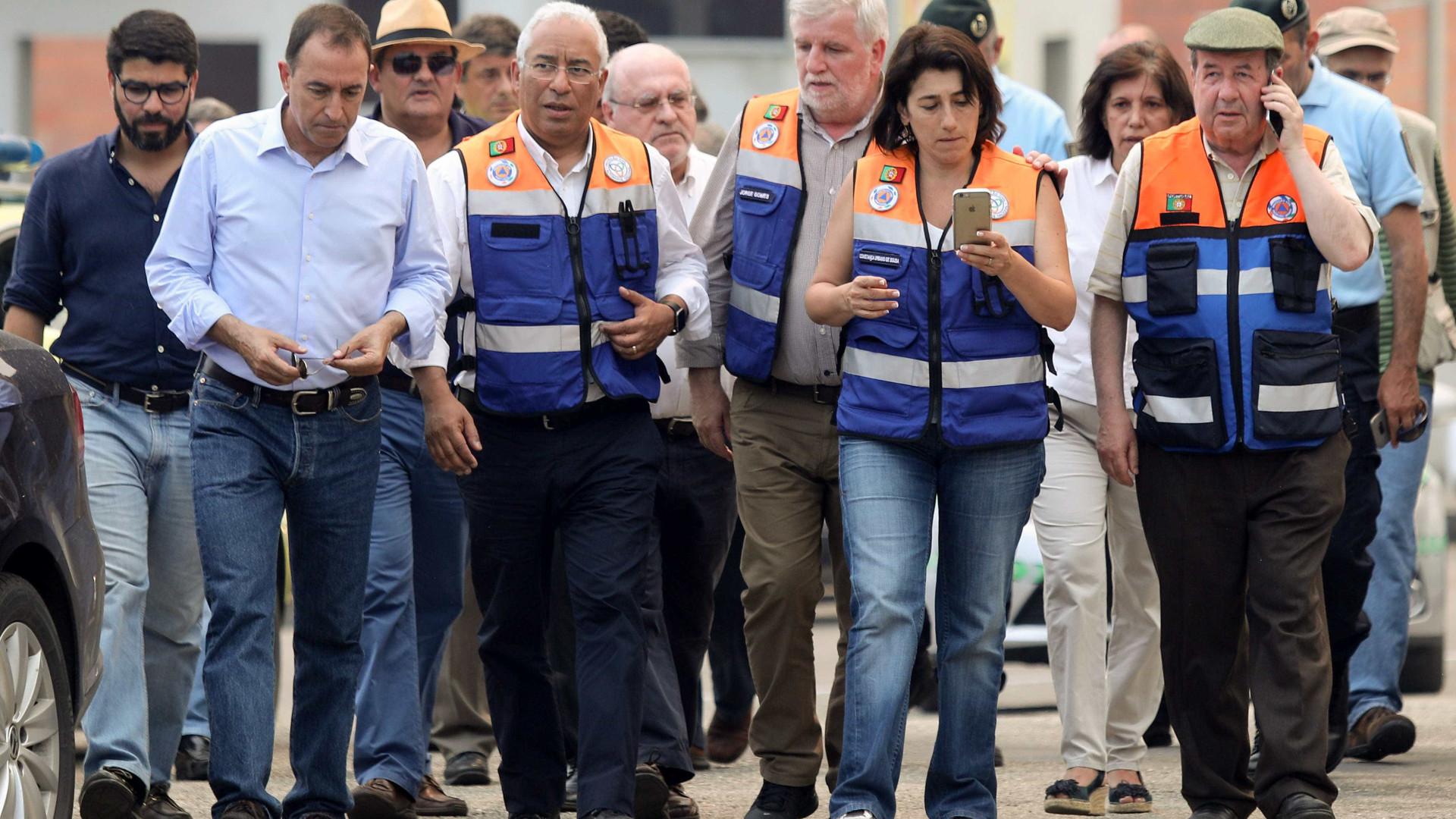 Pedrógão Grande: Costa apela a que todos sigam ordens das autoridades