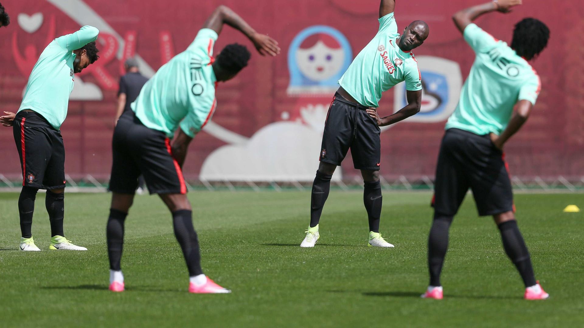 Portugal treina na Arena Otkrytie para a Taça das Confederações