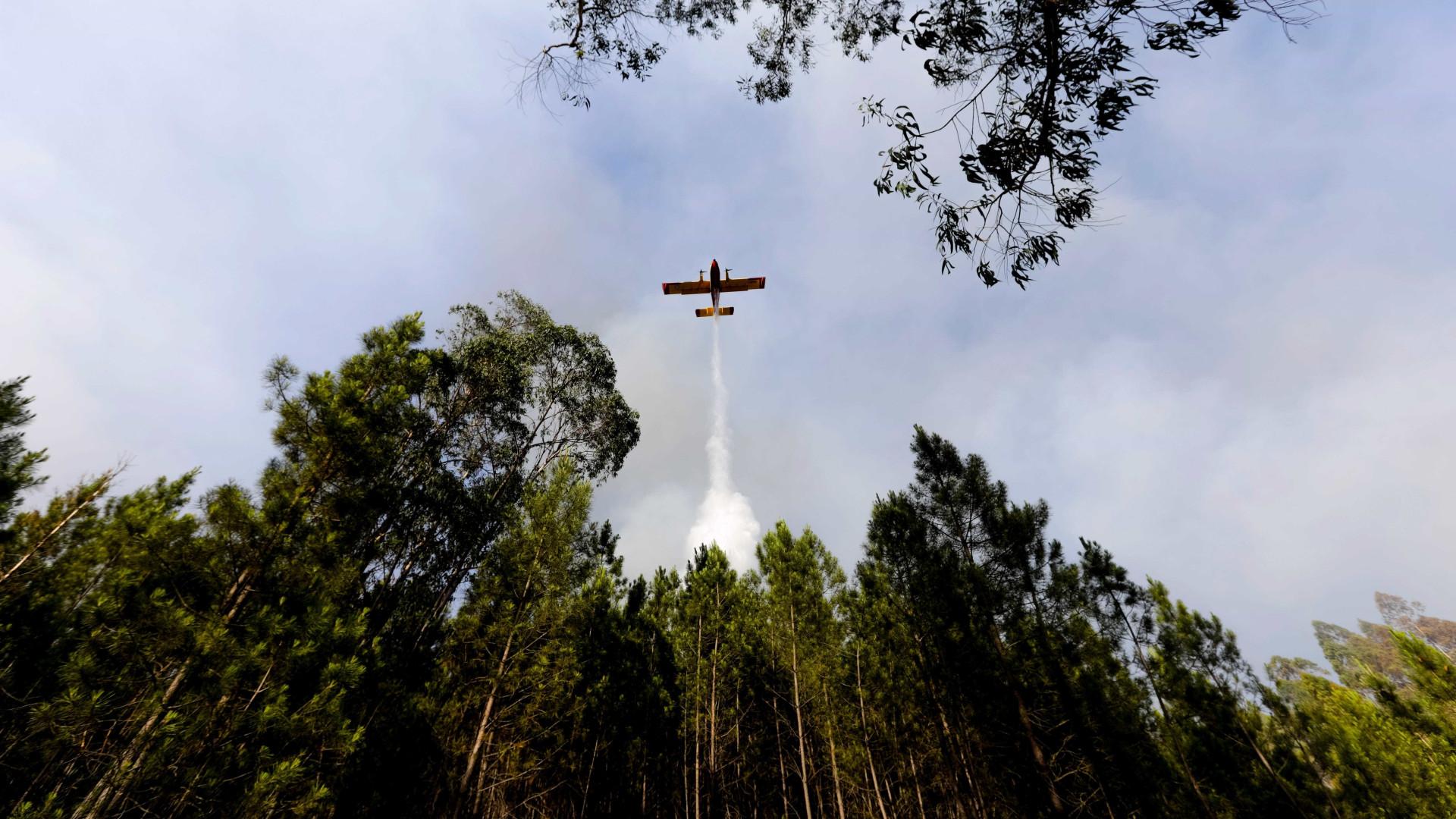 Número de fogos duplica e mobiliza mais de 2.400 operacionais