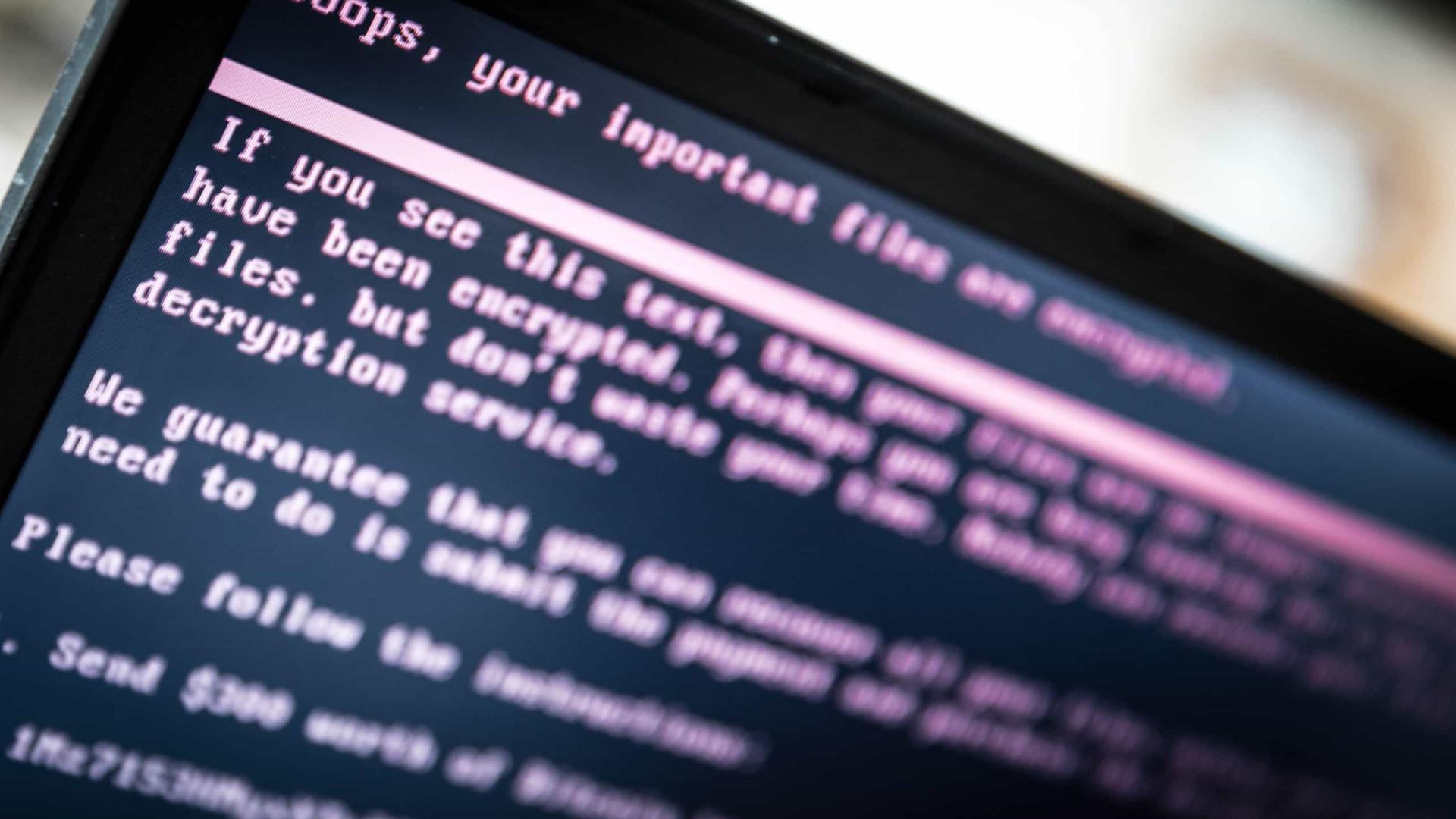 Ataque cibernético global pode custar até 121 mil milhões de dólares