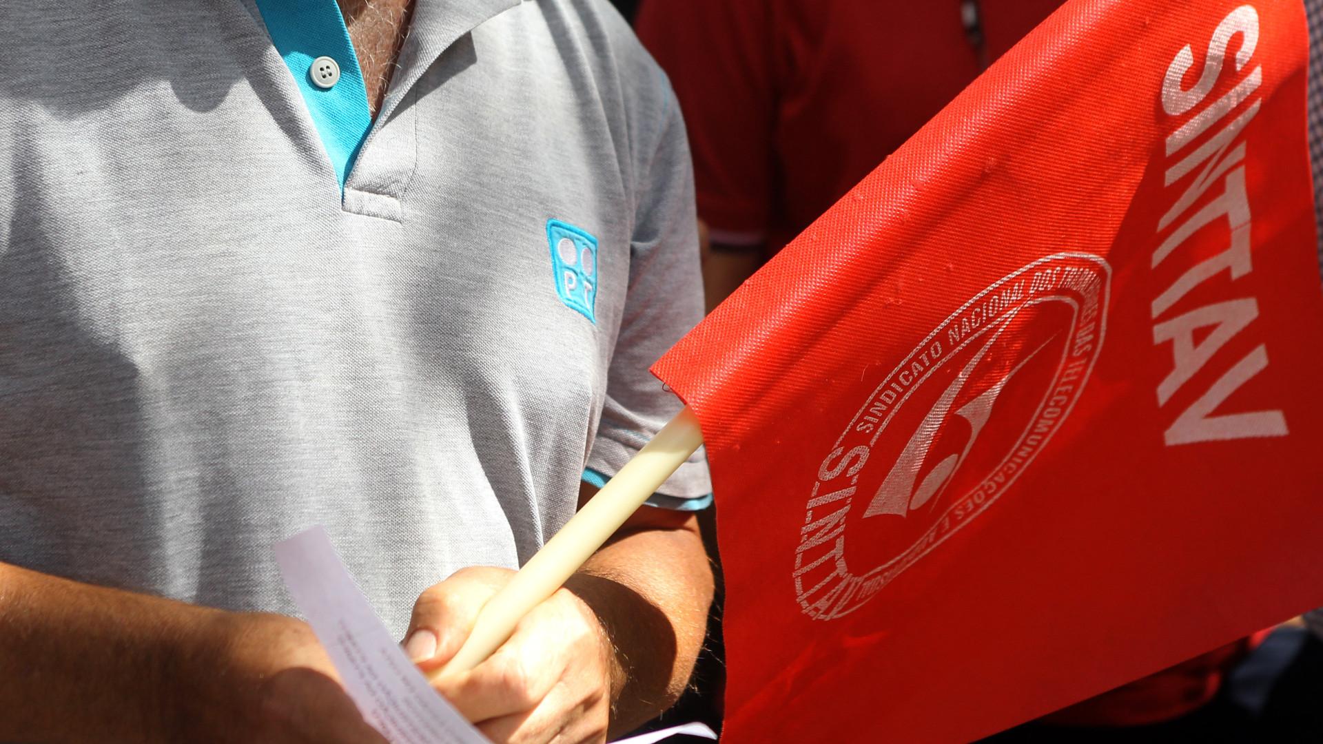 Trabalhadores da PT protestam contra transferência para outras empresas