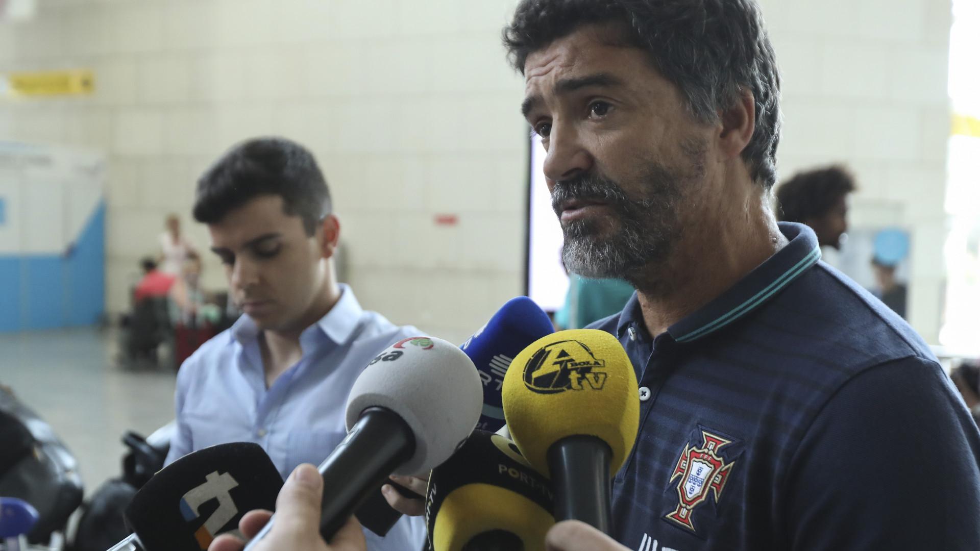 """Hélio Sousa diz que Portugal vai à procura do """"máximo"""" no Europeu"""