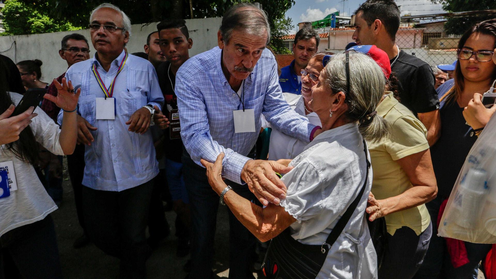 "Governo declara ex-Presidente mexicano Vicente Fox ""personna non grata"""