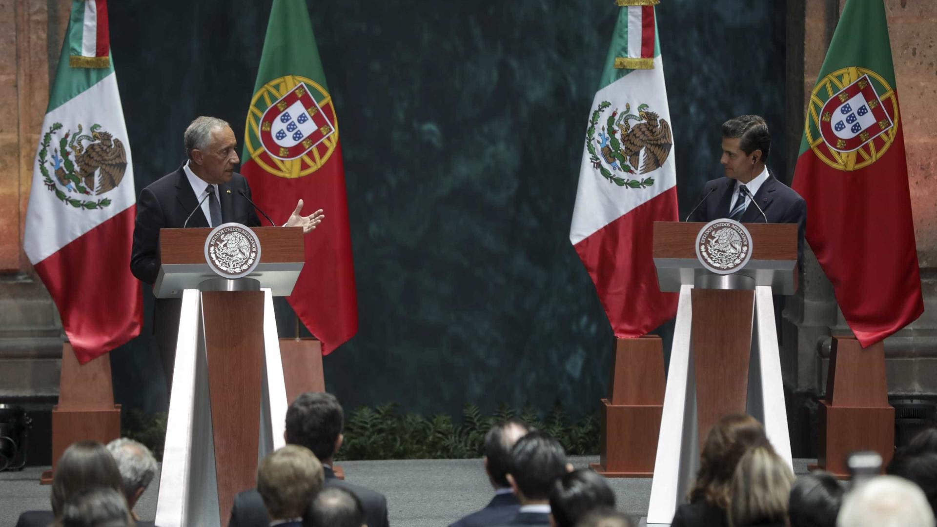 Marcelo e Nieto aliados no comércio livre e contra alterações climáticas