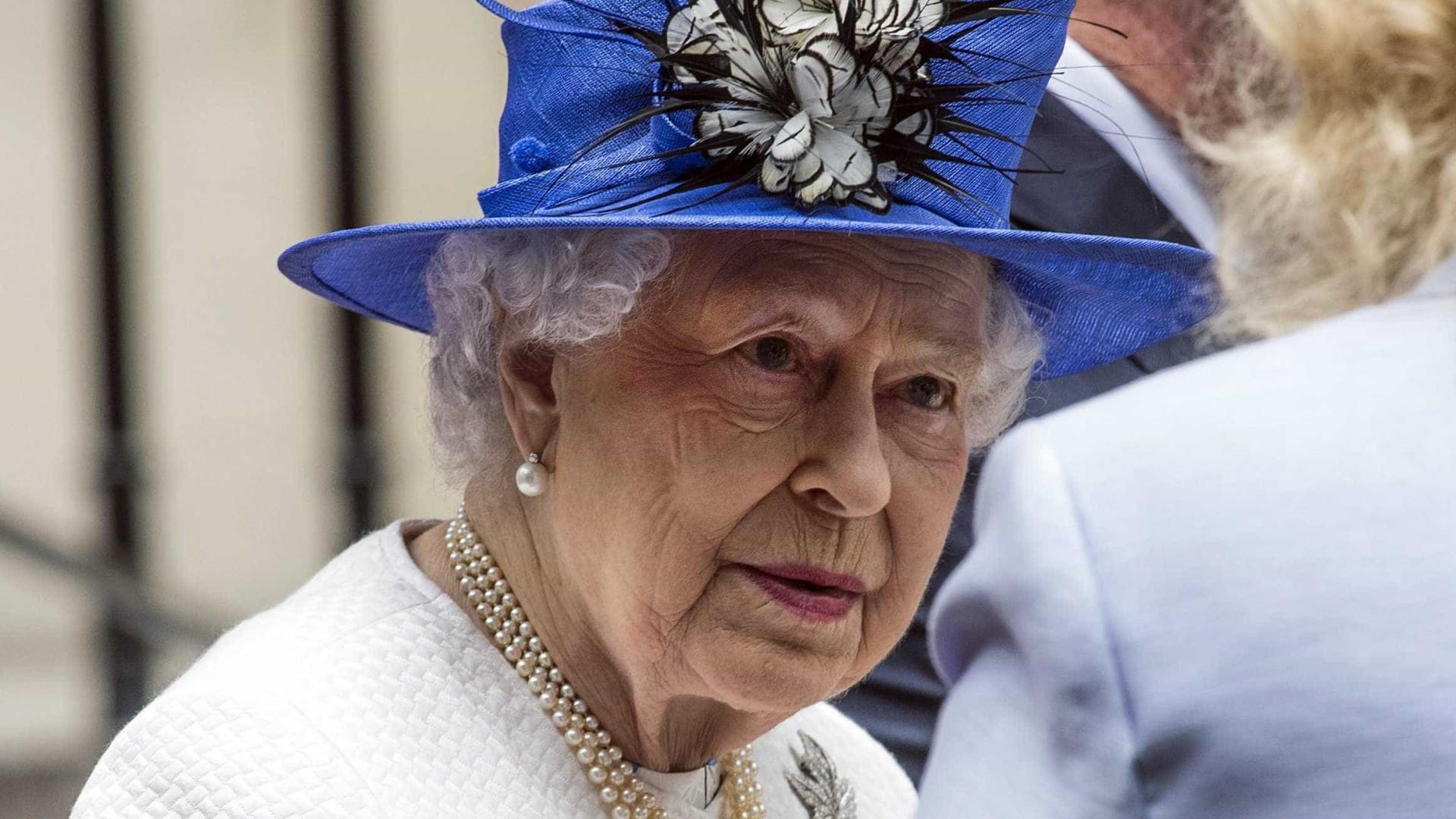 Marcelo enviou mensagem de solidariedade à rainha Isabel II