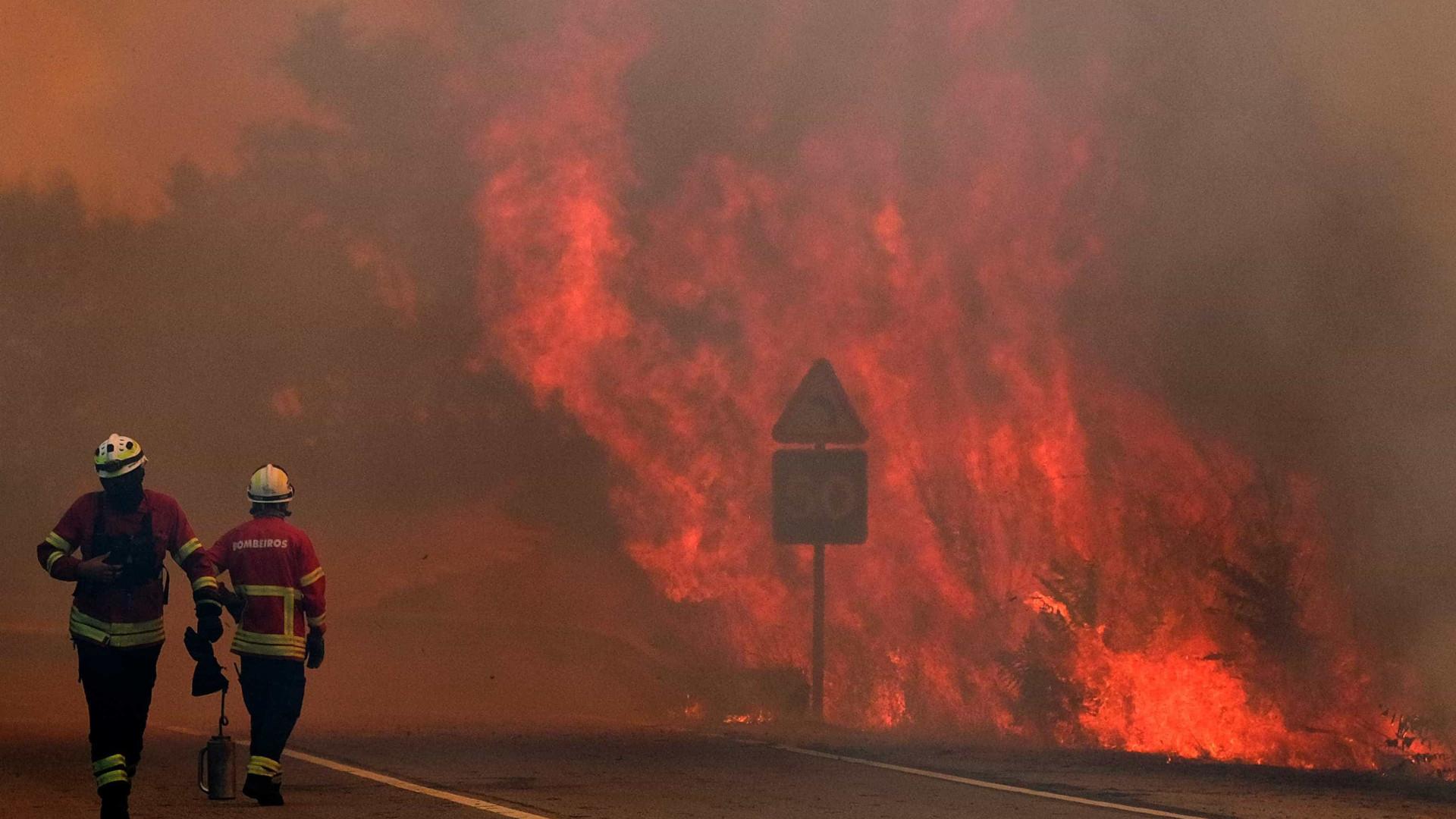 Mais de 50 concelhos do país em risco 'máximo' de incêndio
