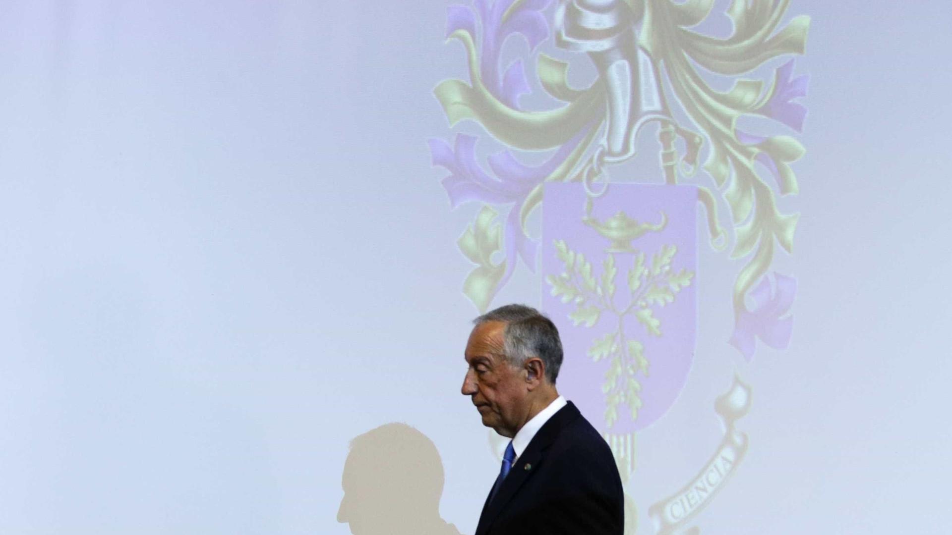 Tancos: Presidente ficou preocupado com relatório, mas já não está