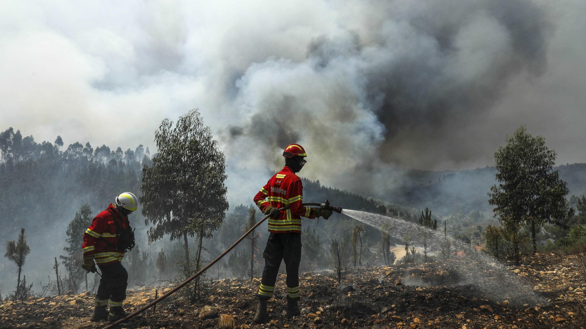 Refeições fornecidas aos bombeiros durante incêndios vão ser investigadas