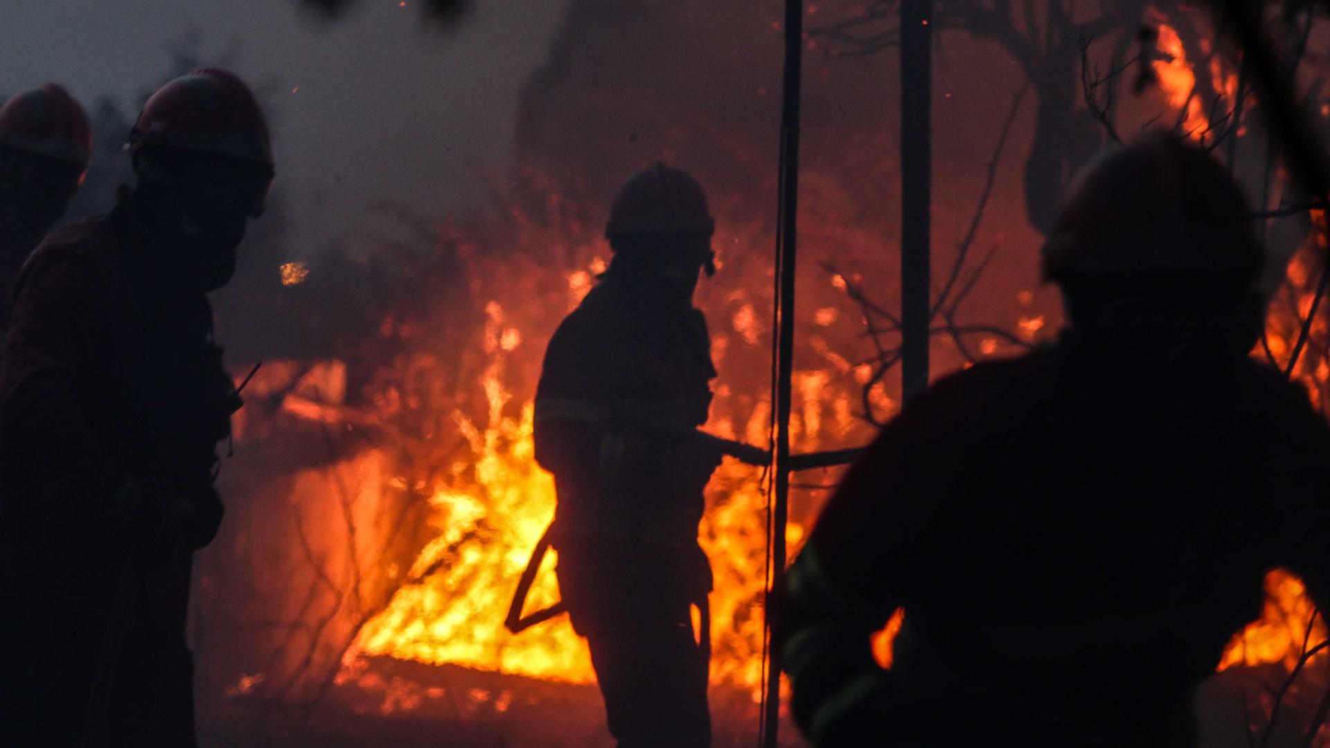 Mais de 2.200 operacionais no combate a nove incêndios em seis distritos