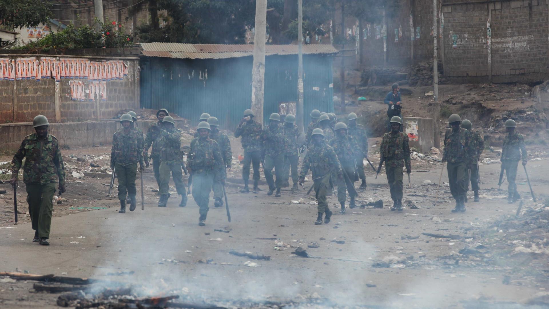 Governo do Quénia nega que haja manifestações e mortos no país