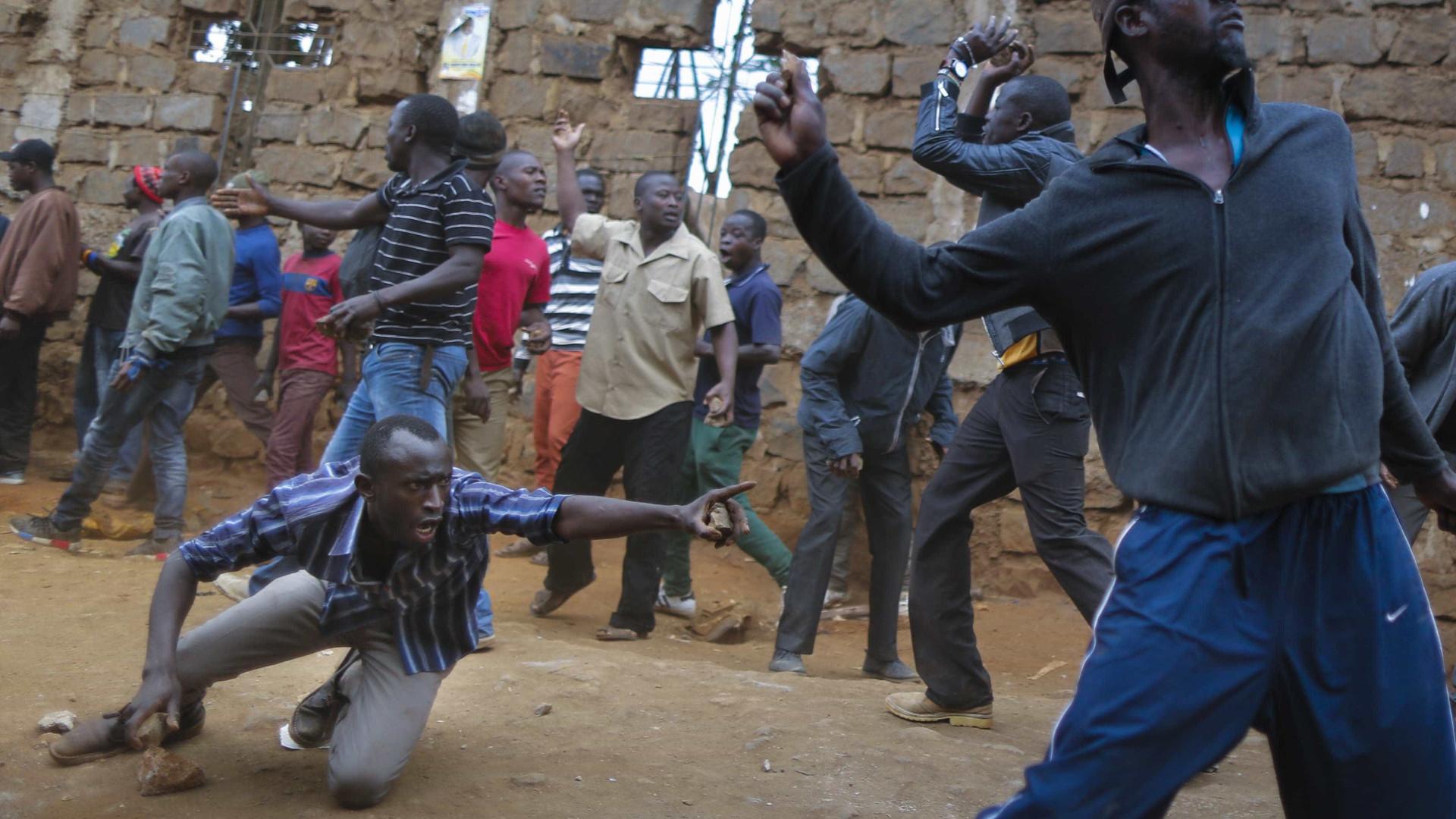 Violentos confrontos na periferia de Nairobi, no Quénia