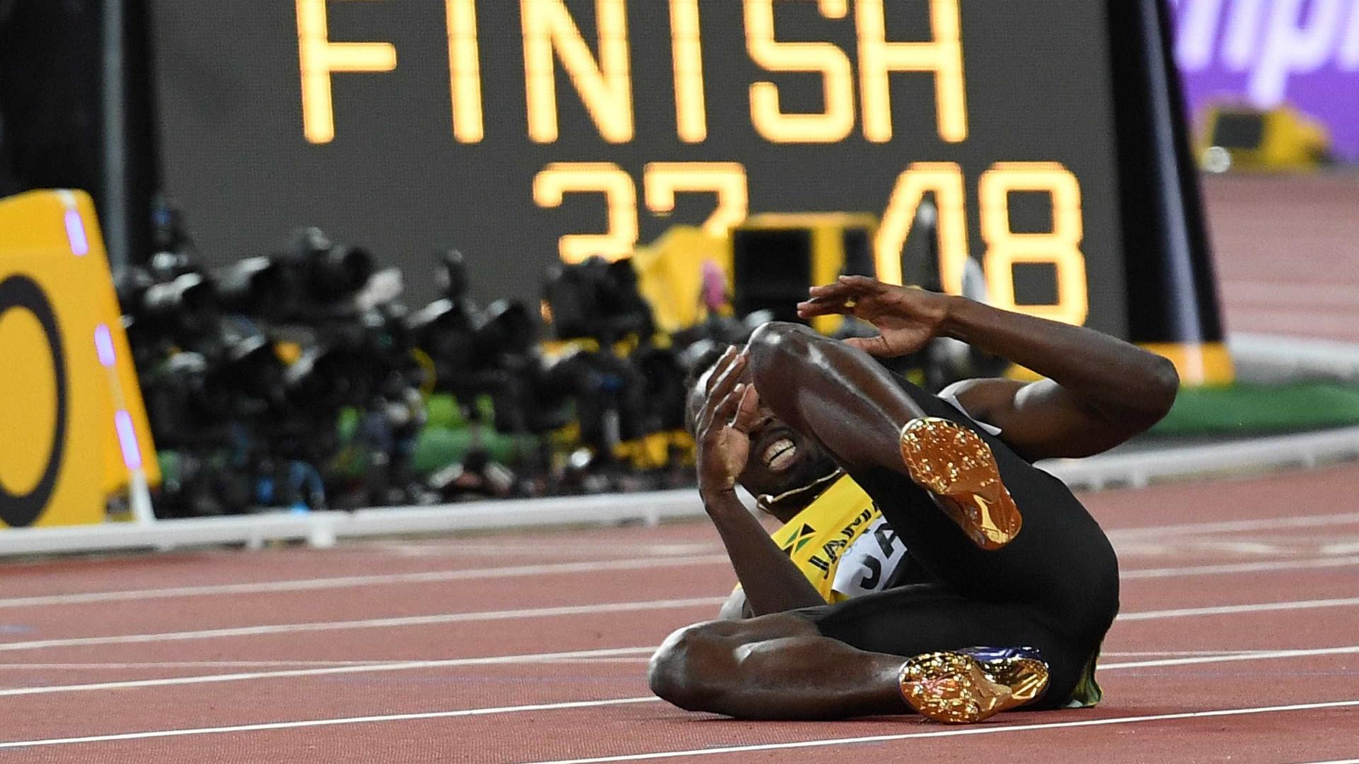Mundiais atletismo: Bolt sofreu cãibra na final dos 4x100 metros