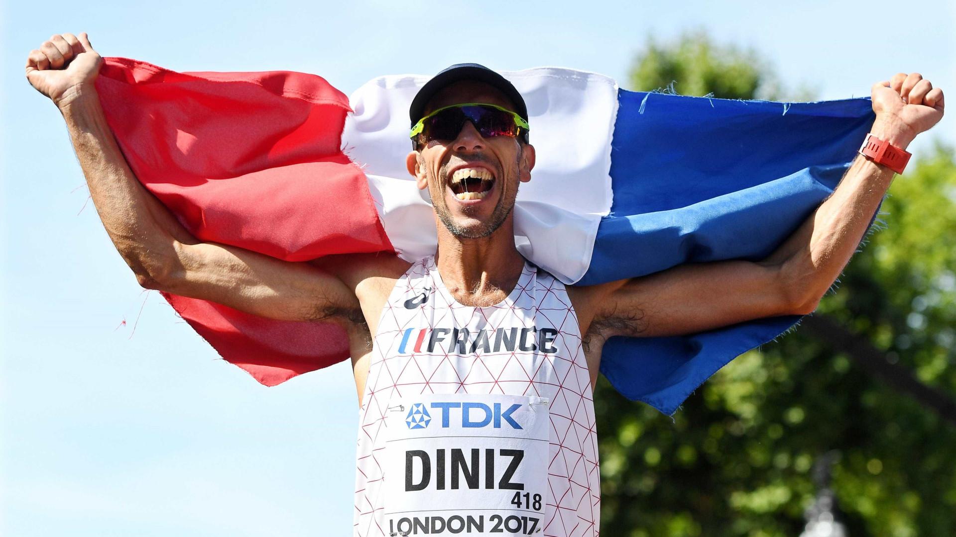 Medalha de ouro dos 50 km masculinos também é portuguesa, diz Yohann