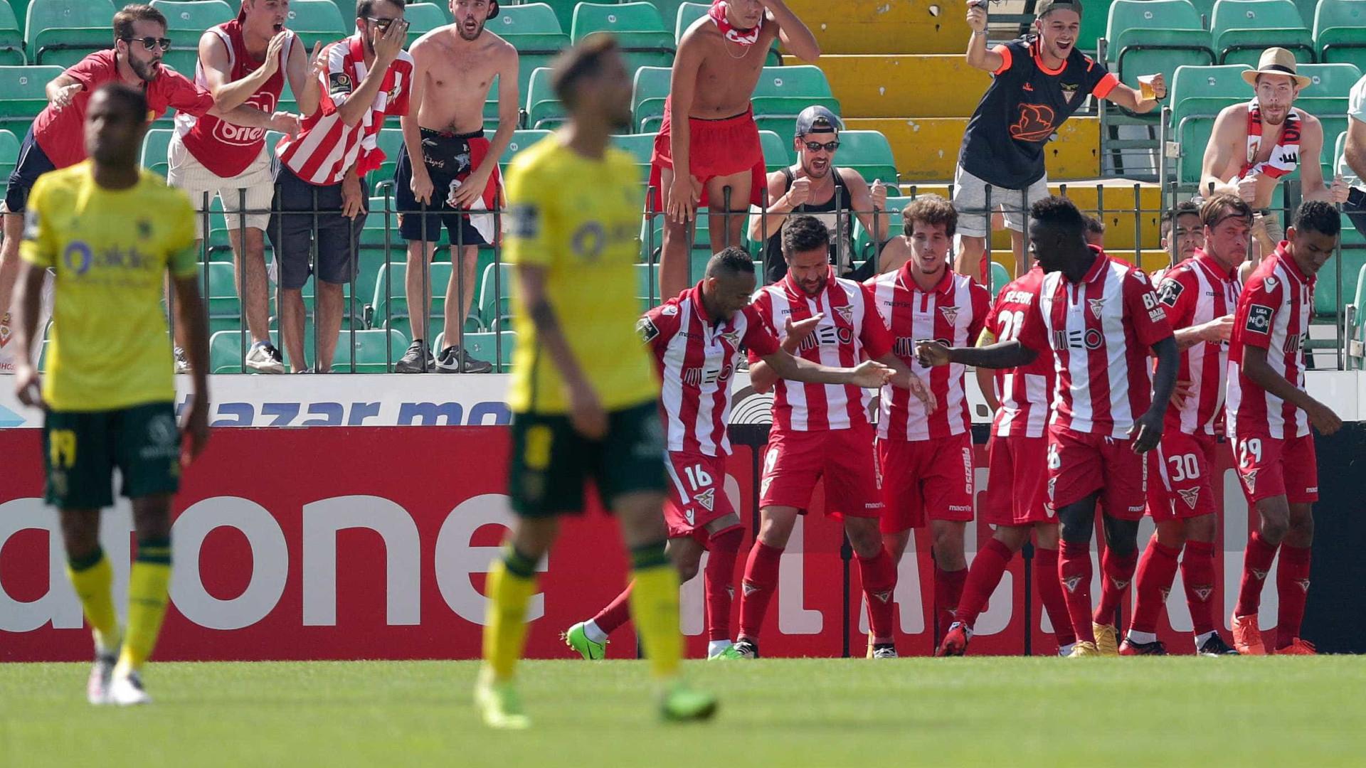Paços de Ferreira e Desportivo das Aves empatam 2-2