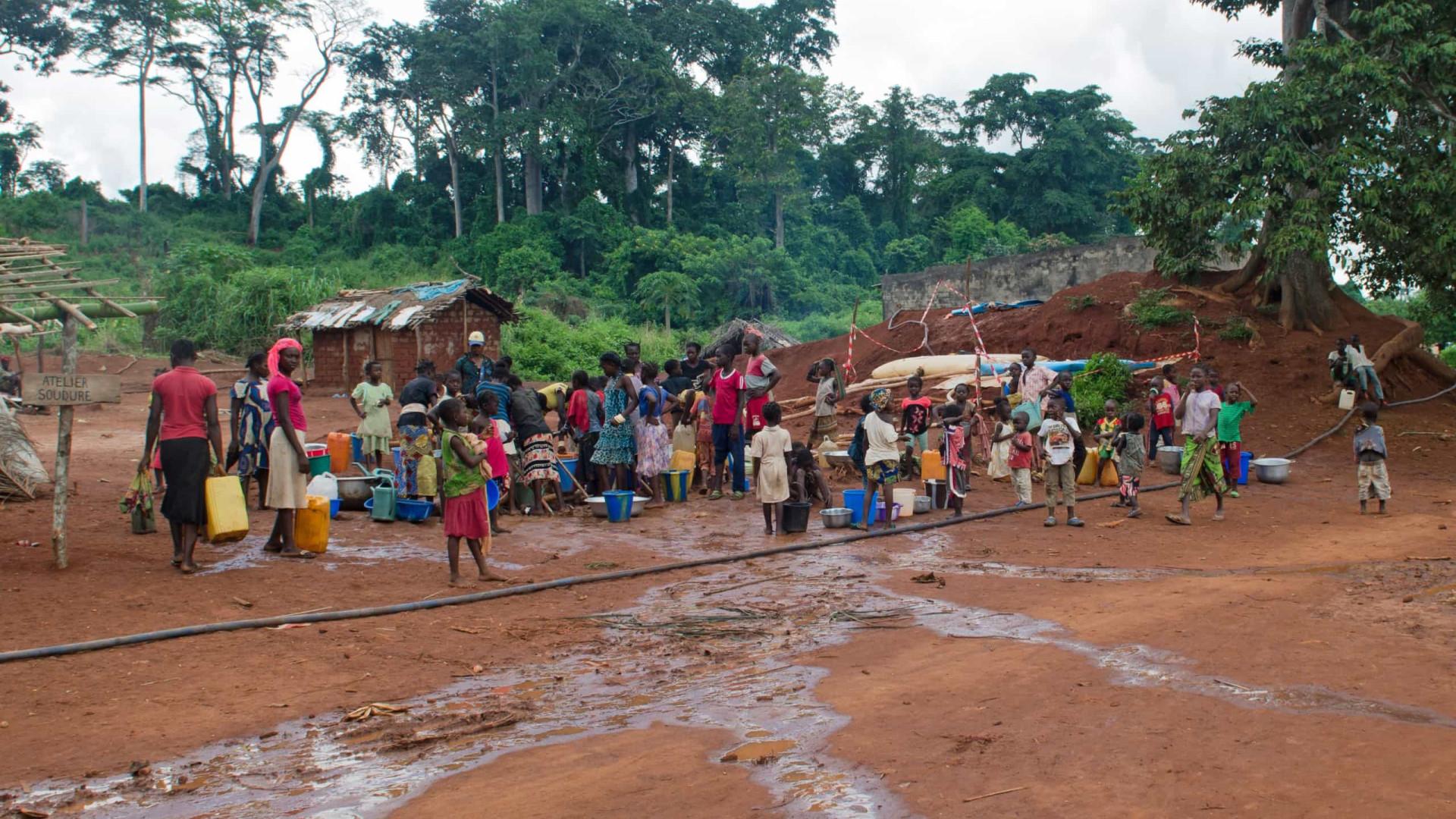 Mais de meio milhão fugiram da República Centro-Africana