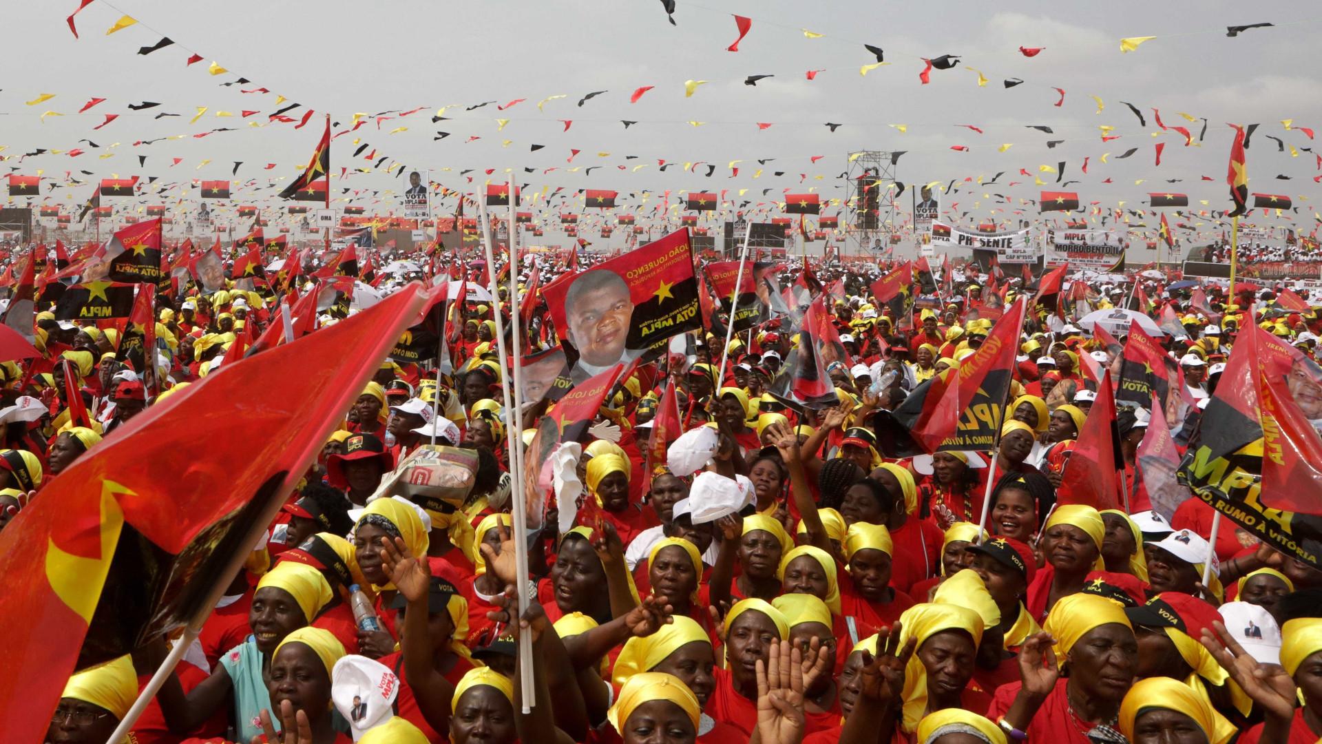 PSD presente com o secretário-geral-adjunto no ato eleitoral em Angola