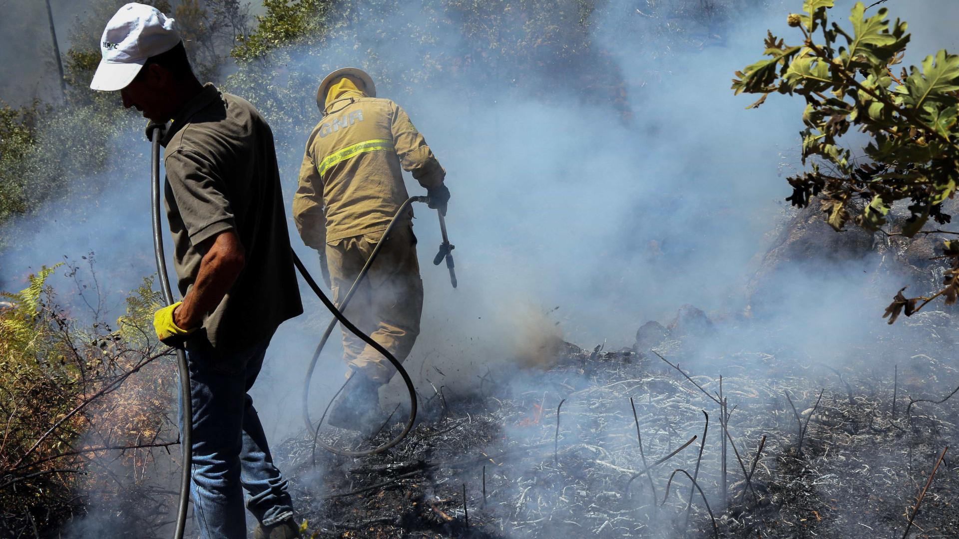 Reacendimento na Covilhã exige intervenção de 400 bombeiros