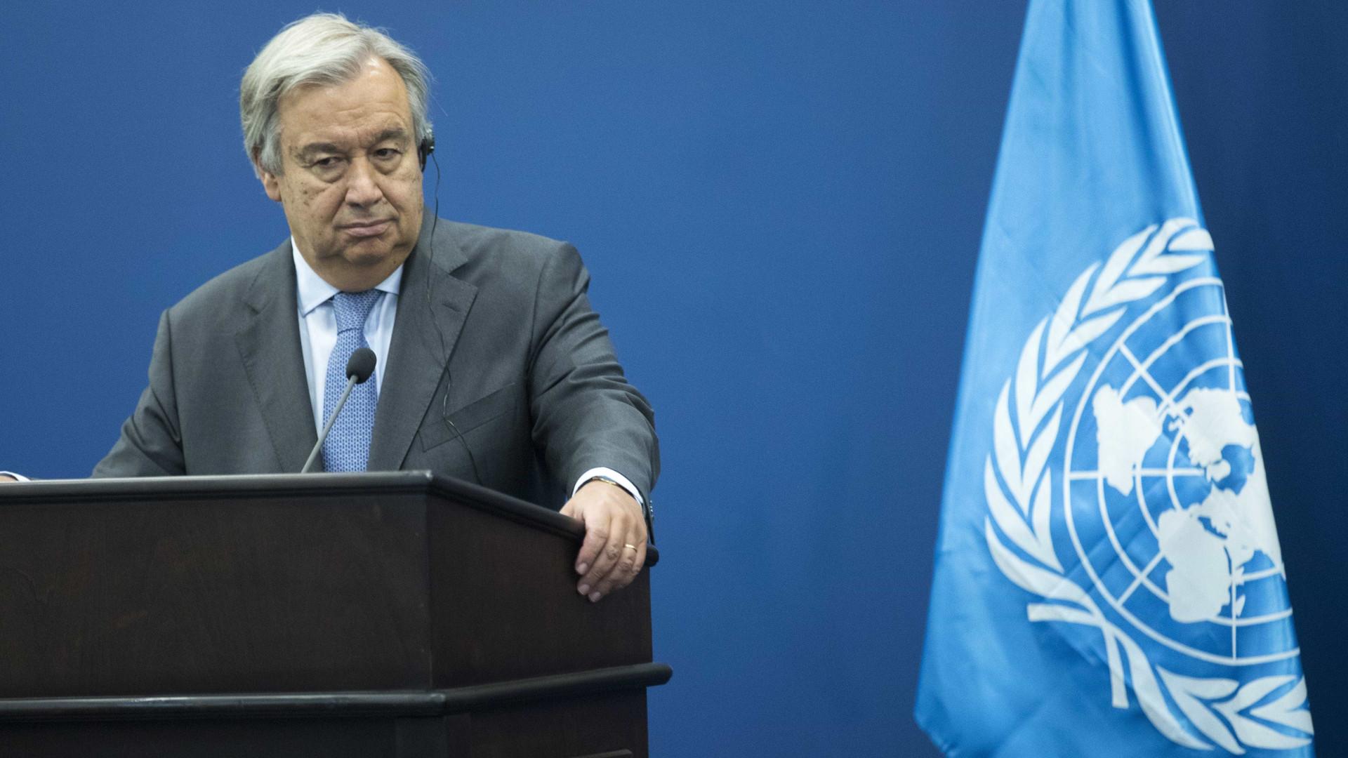 """Guterres diz que solução para a Coreia do Norte """"só pode ser política"""""""