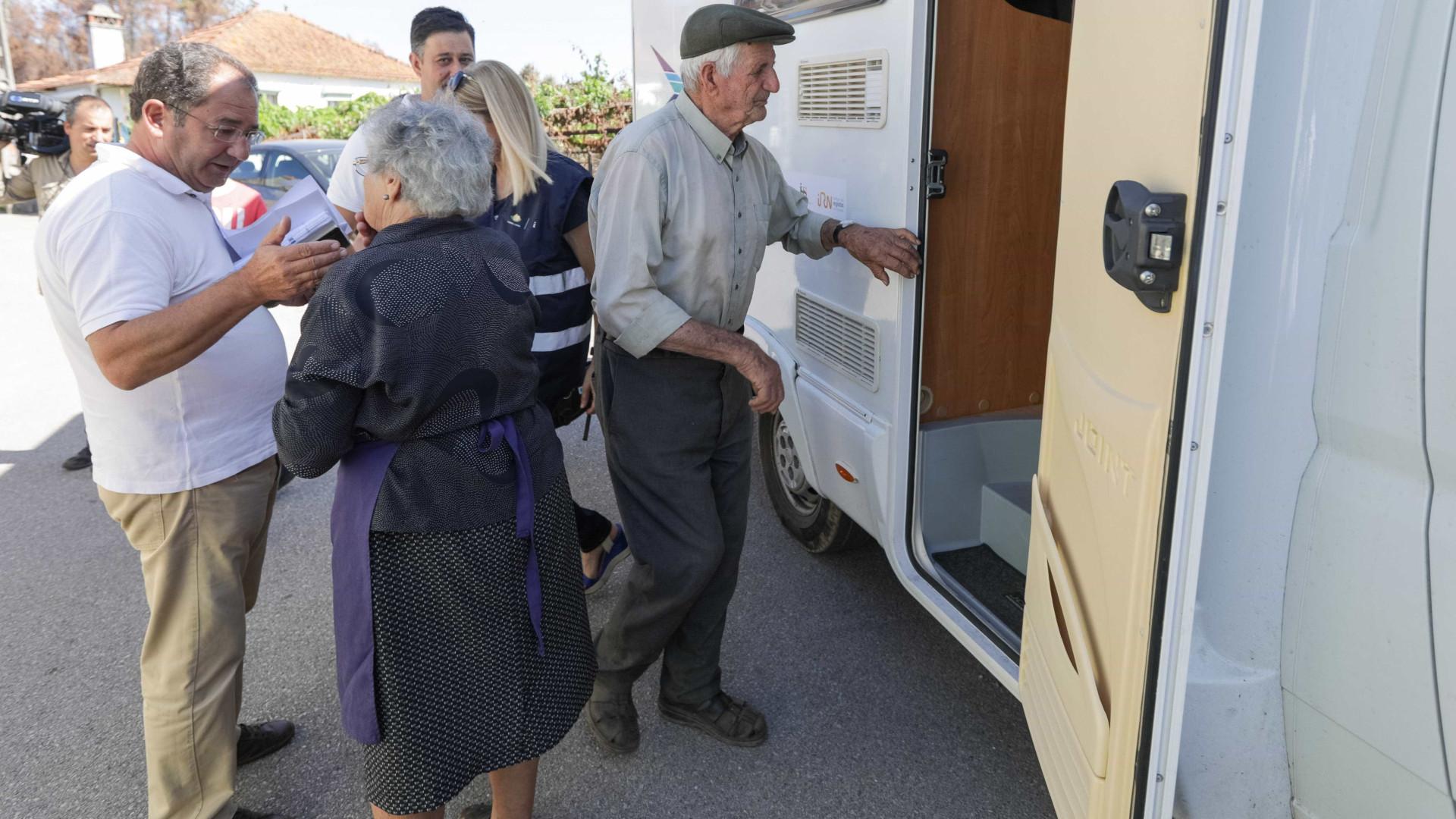 Pedrógão: Unidades móveis percorrem aldeias a apoiar população
