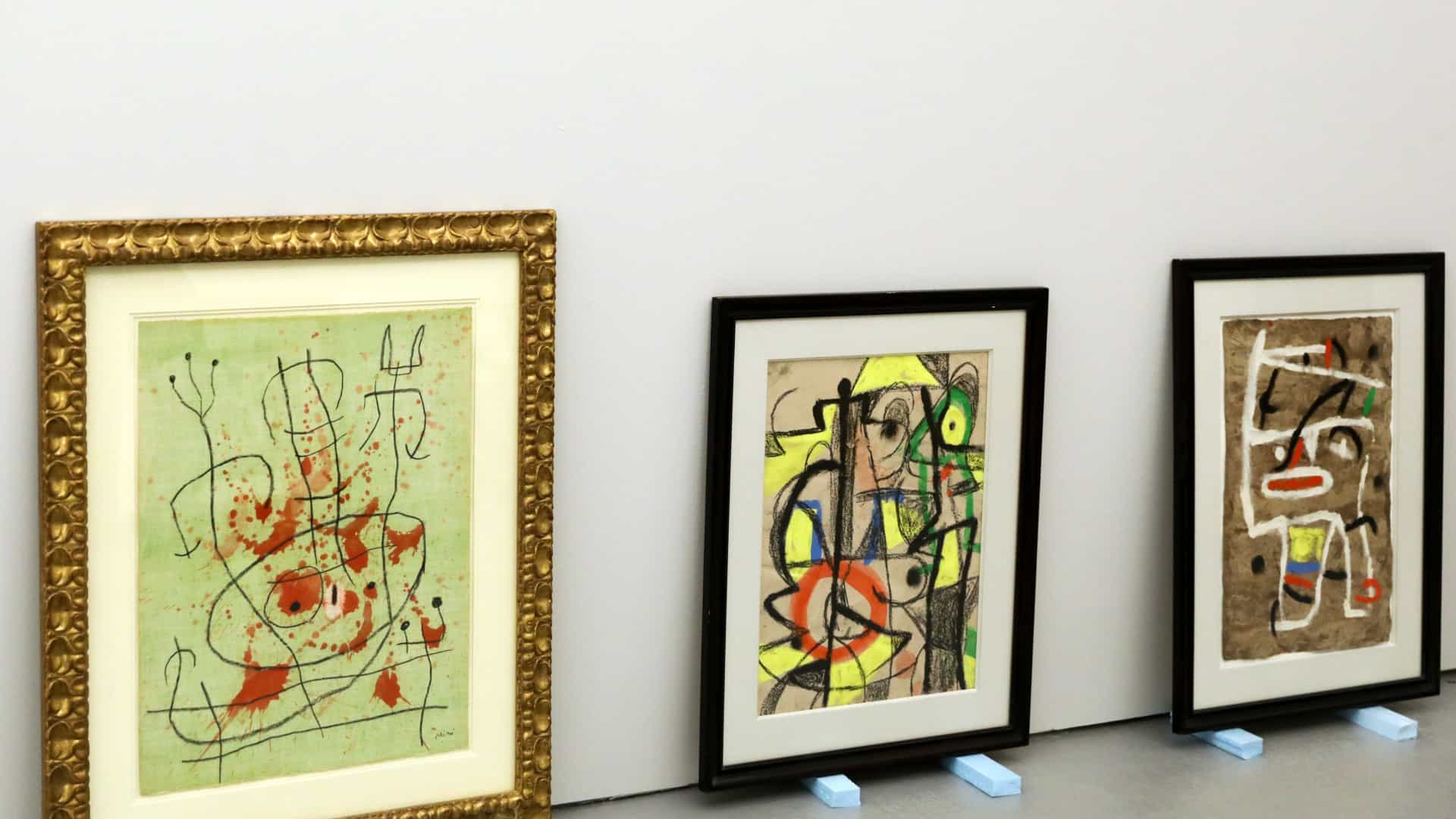 DGPC paga 70 mil euros a Serralves pela exposição dos Miró na Ajuda
