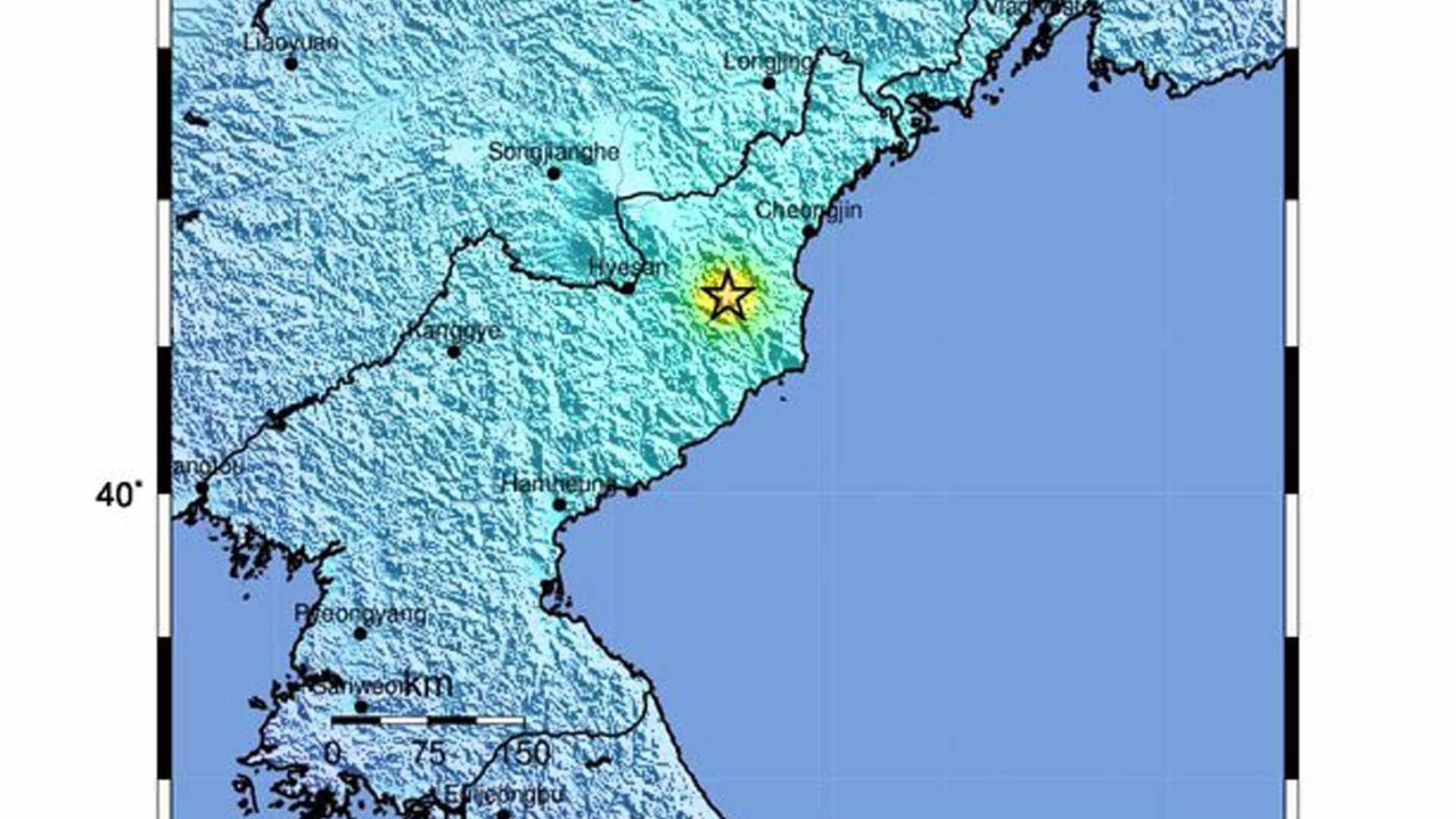 Coreia do Norte estaria pronta para conduzir novo teste nuclear