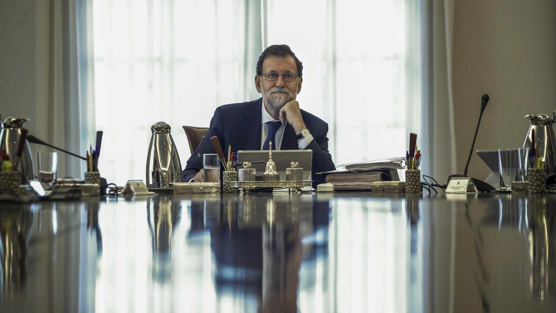 """Rajoy avisa independentistas catalães que estão """"a cometer um erro"""""""