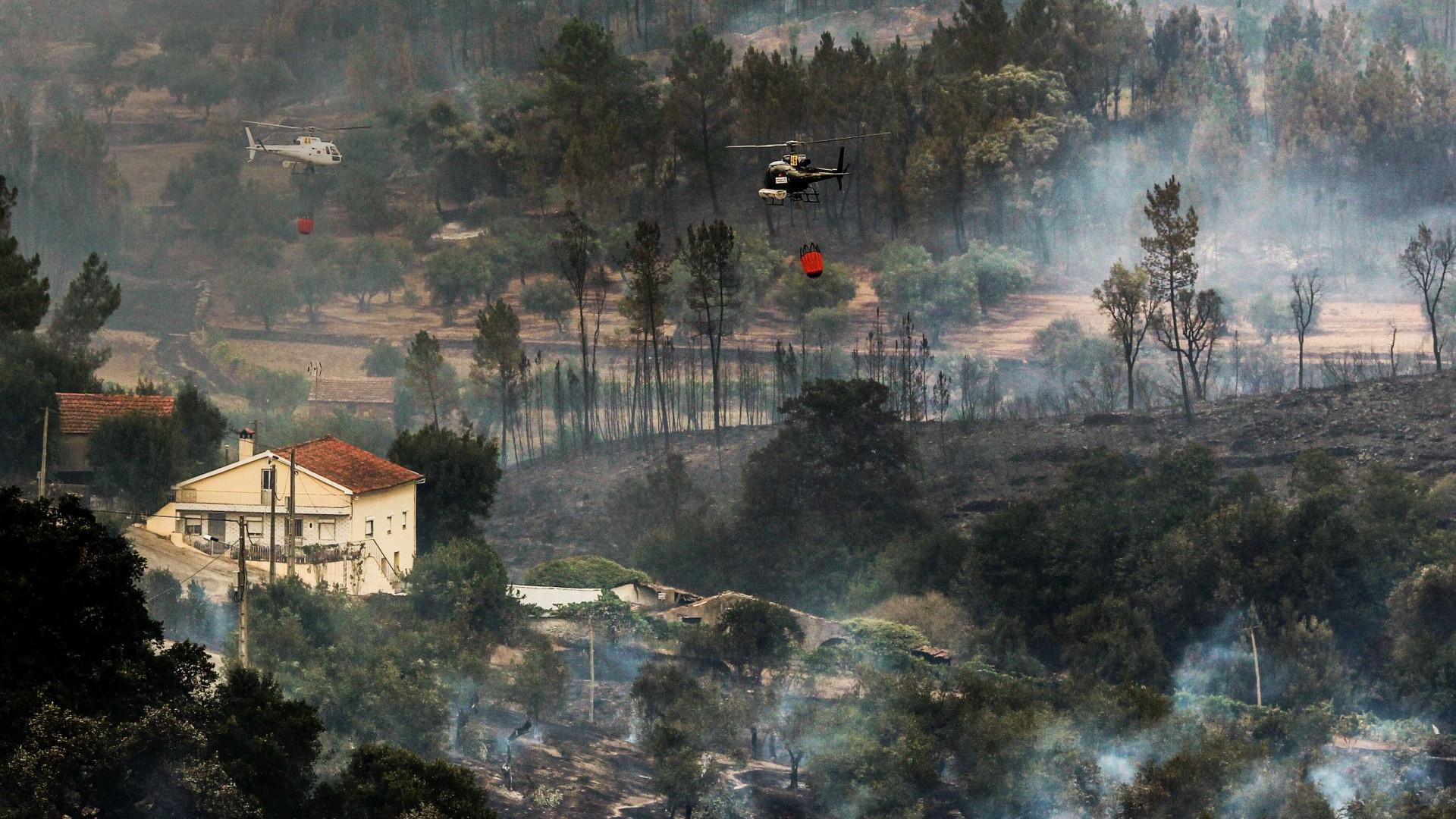 Incêndio da Sertã entrou em fase de resolução