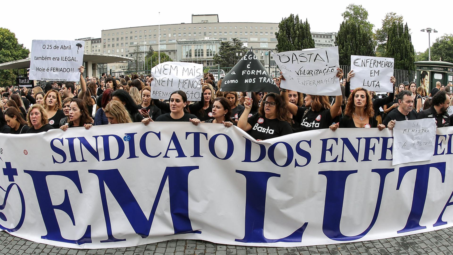 Enfermeiros fazem greve nos dias 22 e 23 de Março