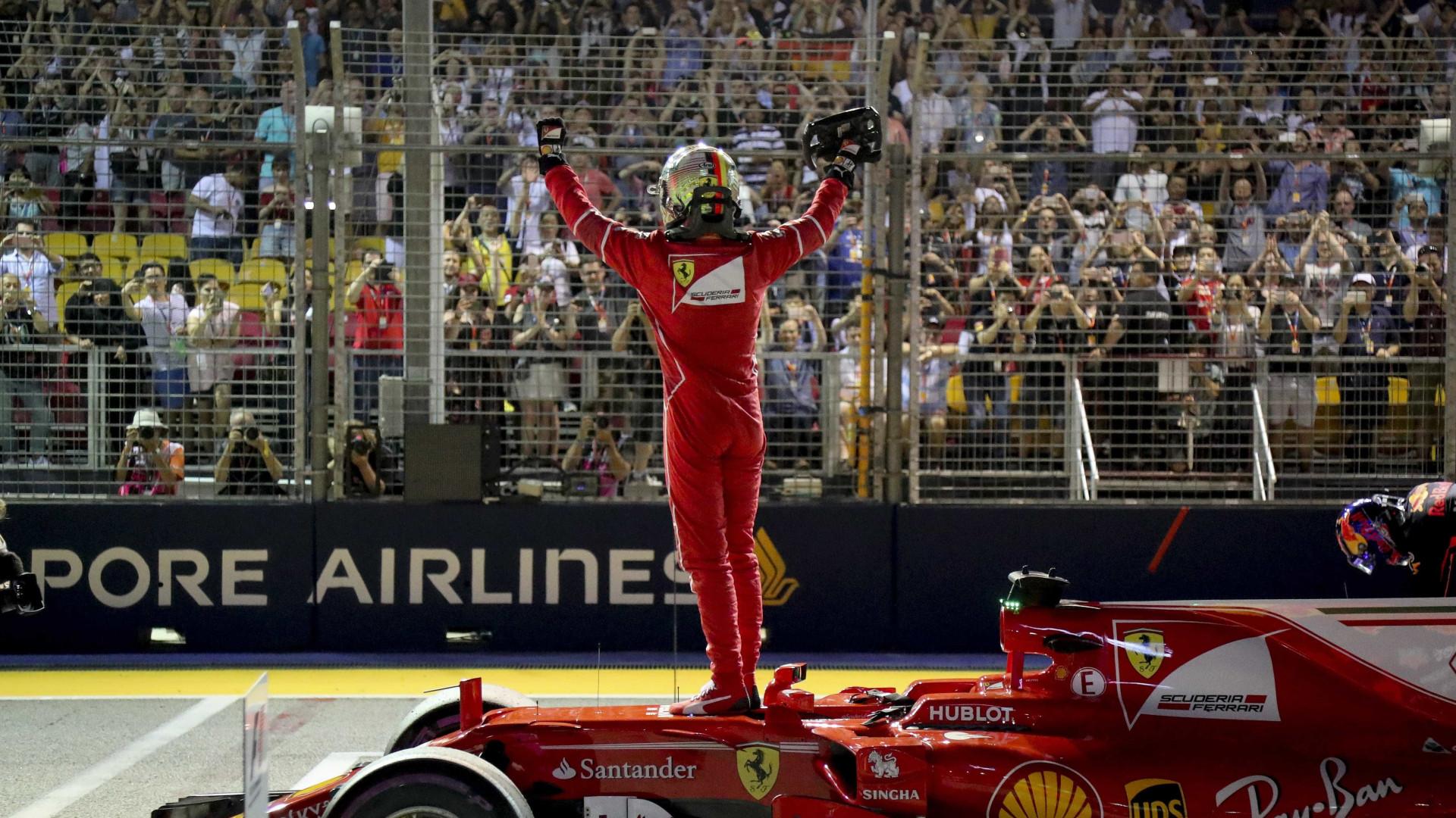 Sebastian Vettel conquista 'pole position' para o GP de Singapura