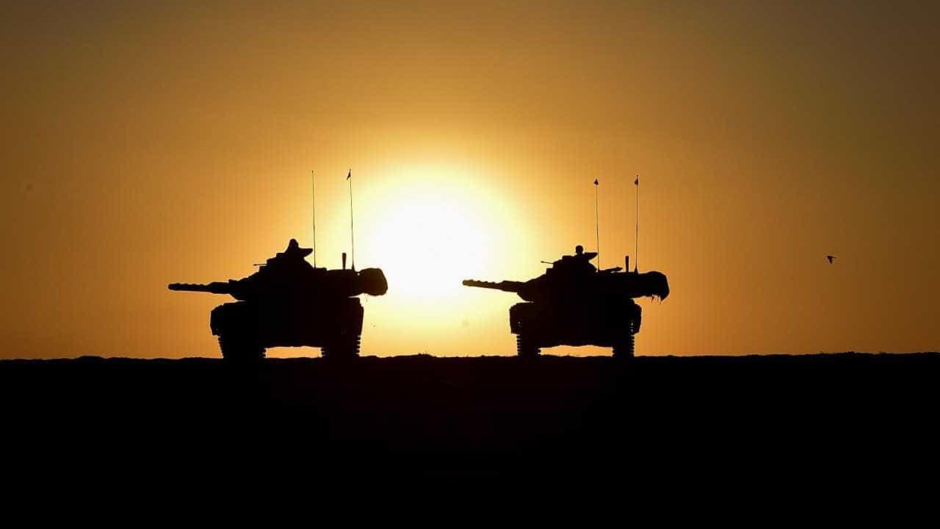 Combatentes curdos cortam estradas entre o Curdistão e Mossul