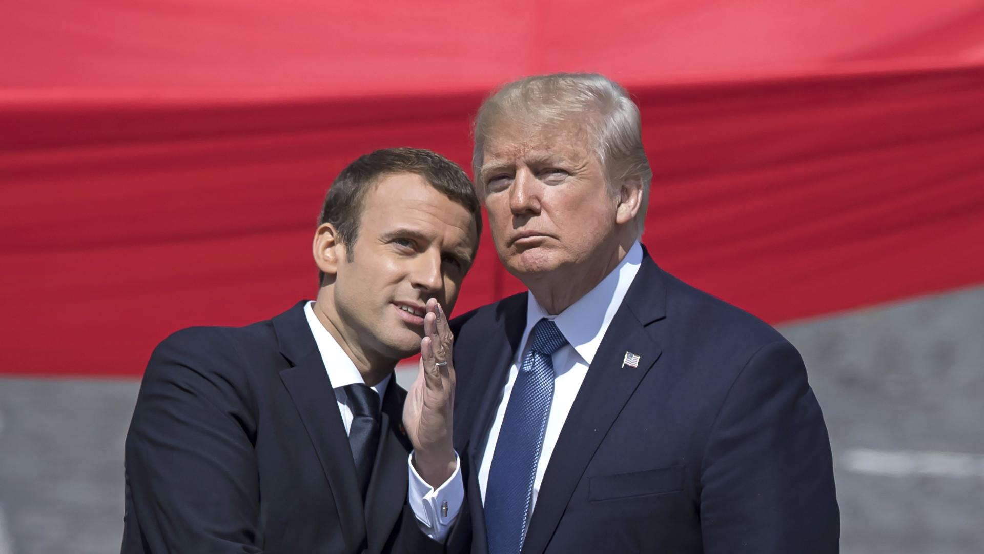 Ex-presidente da França critica Macron em livro