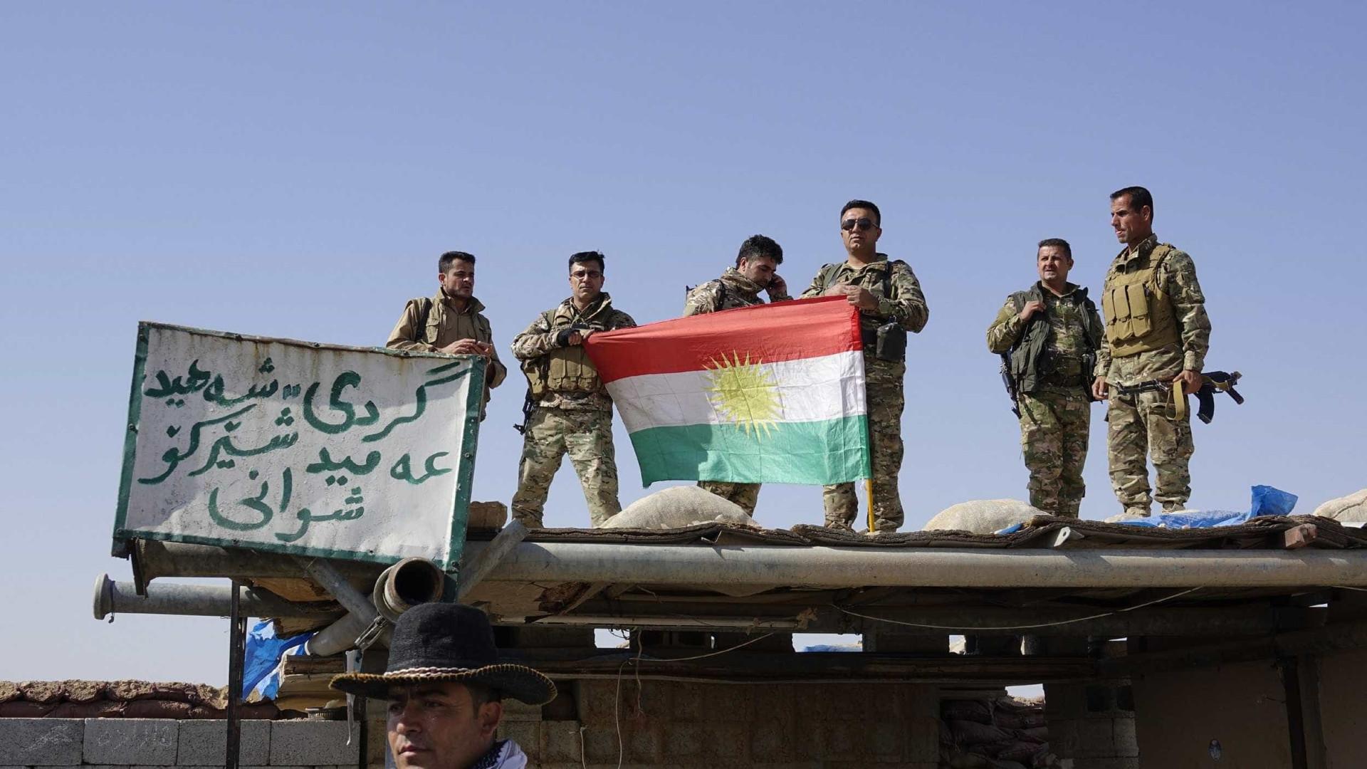 Presença de combatentes curdos em Kirkuk vista como declaração de guerra