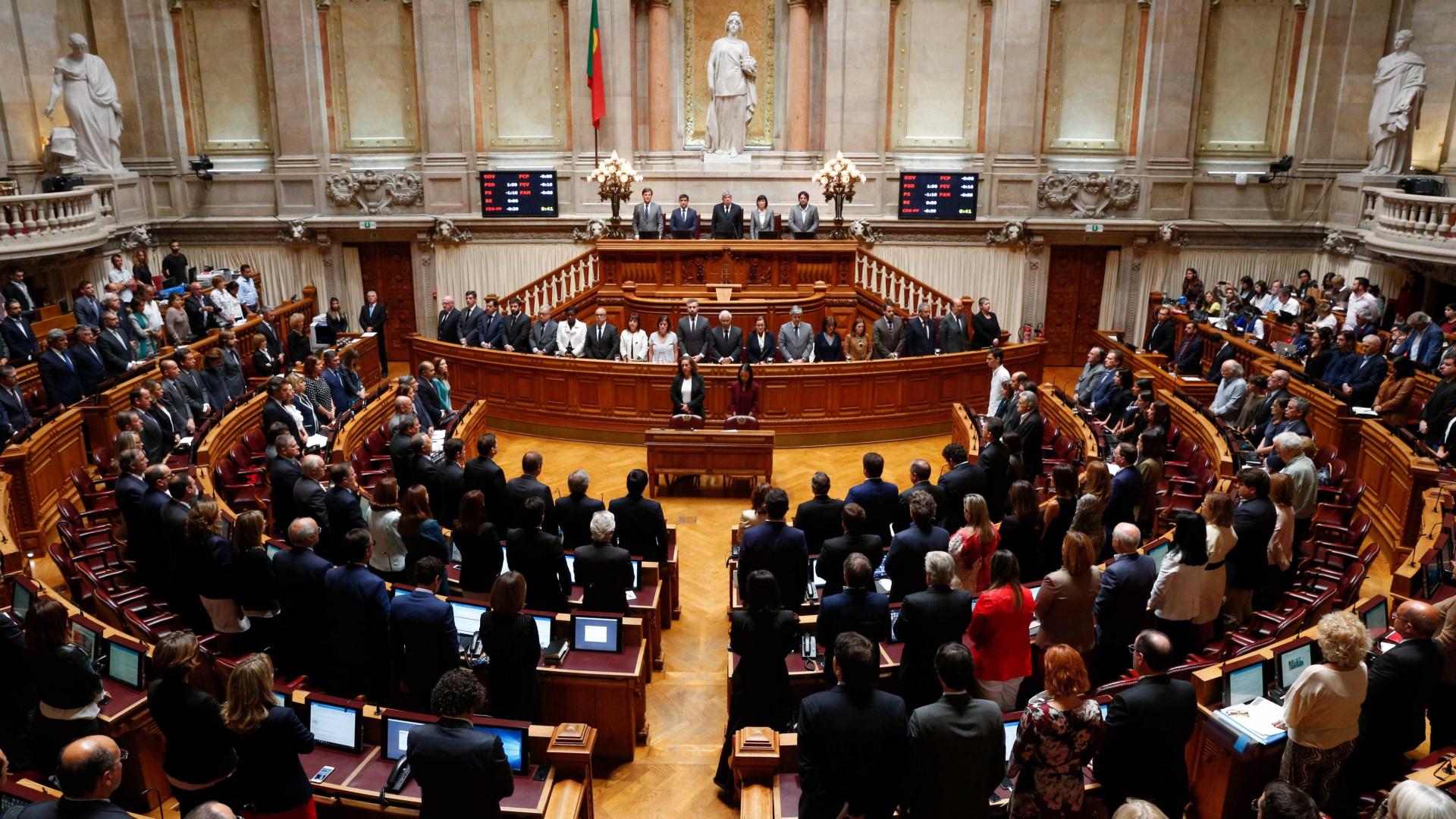 AR/Censura: Parlamento agenda moção do CDS-PP para terça-feira