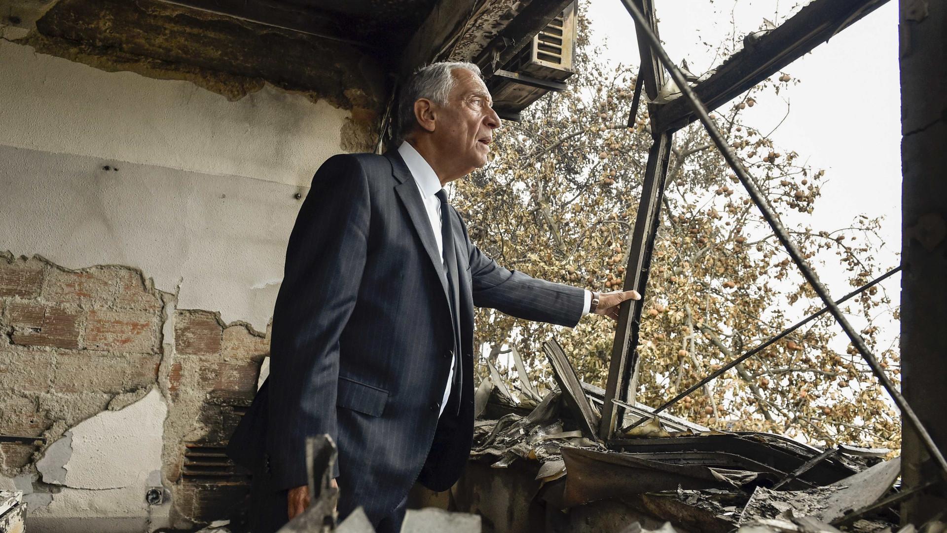 """Marcelo quer que pessoas que viveram tragédias """"não sejam esquecidas"""""""