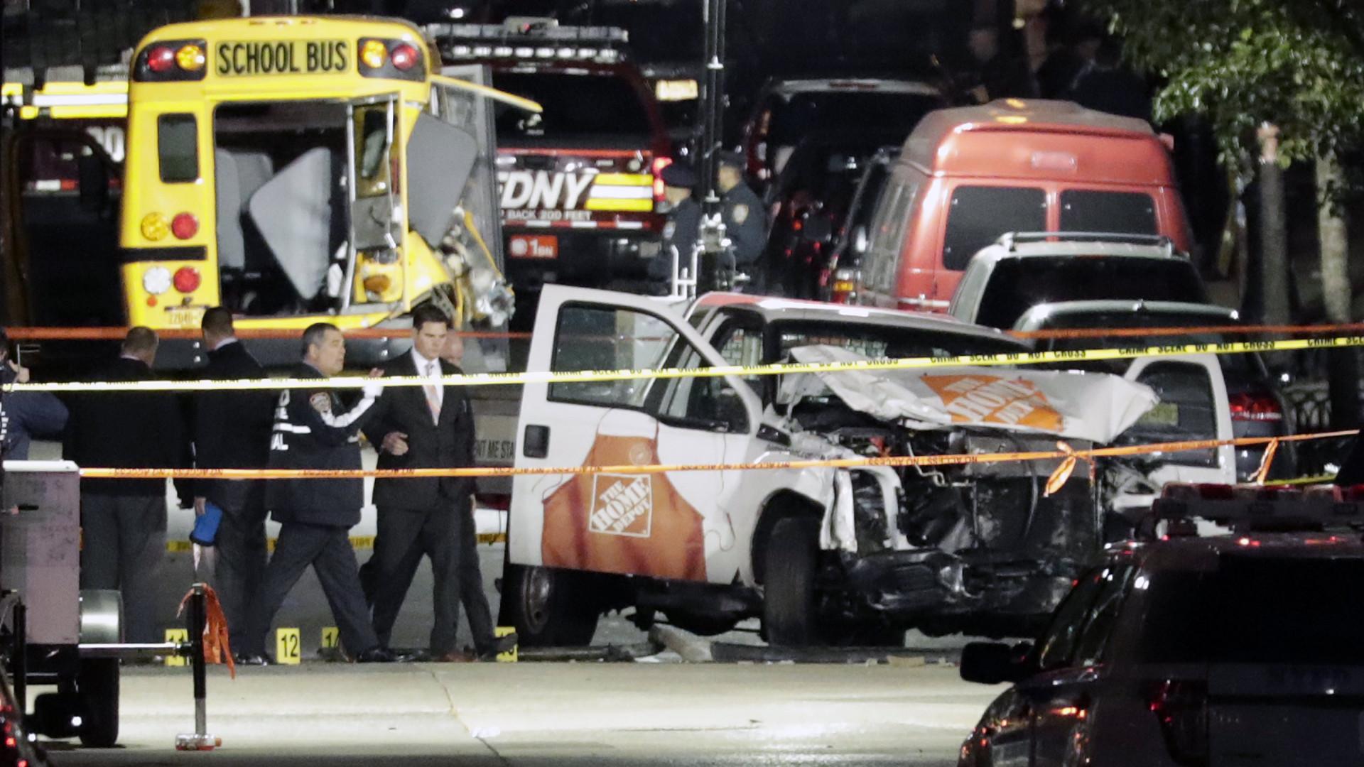 Donald Trump ordena reforço do controlo de estrangeiros após ataque em Manhattan