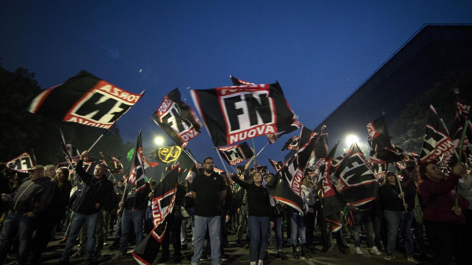 Fascistas do Forza Nuova atacaram sede do jornal La Reppublica