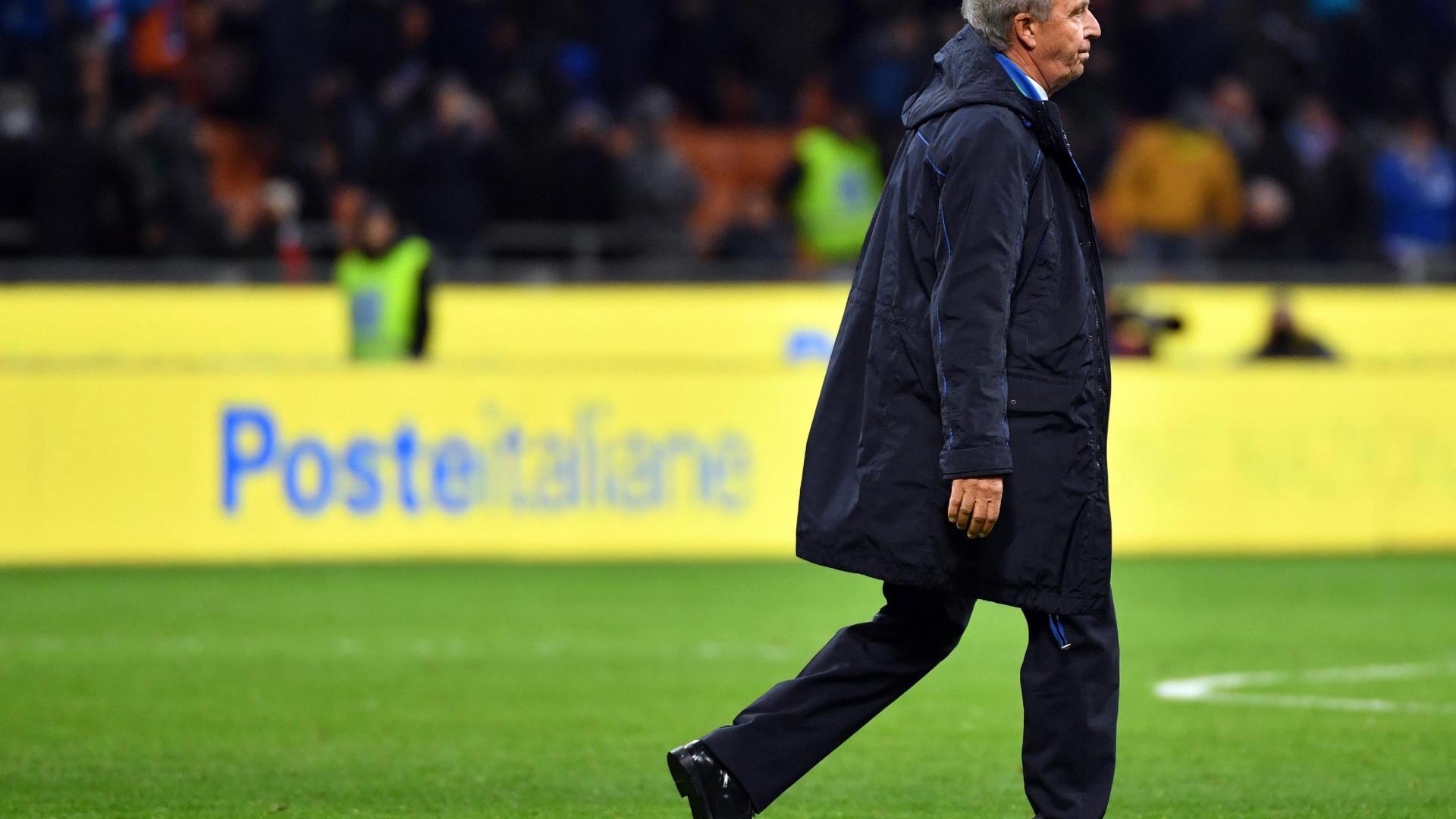 Ventura pede desculpa aos italianos por falhar qualificação