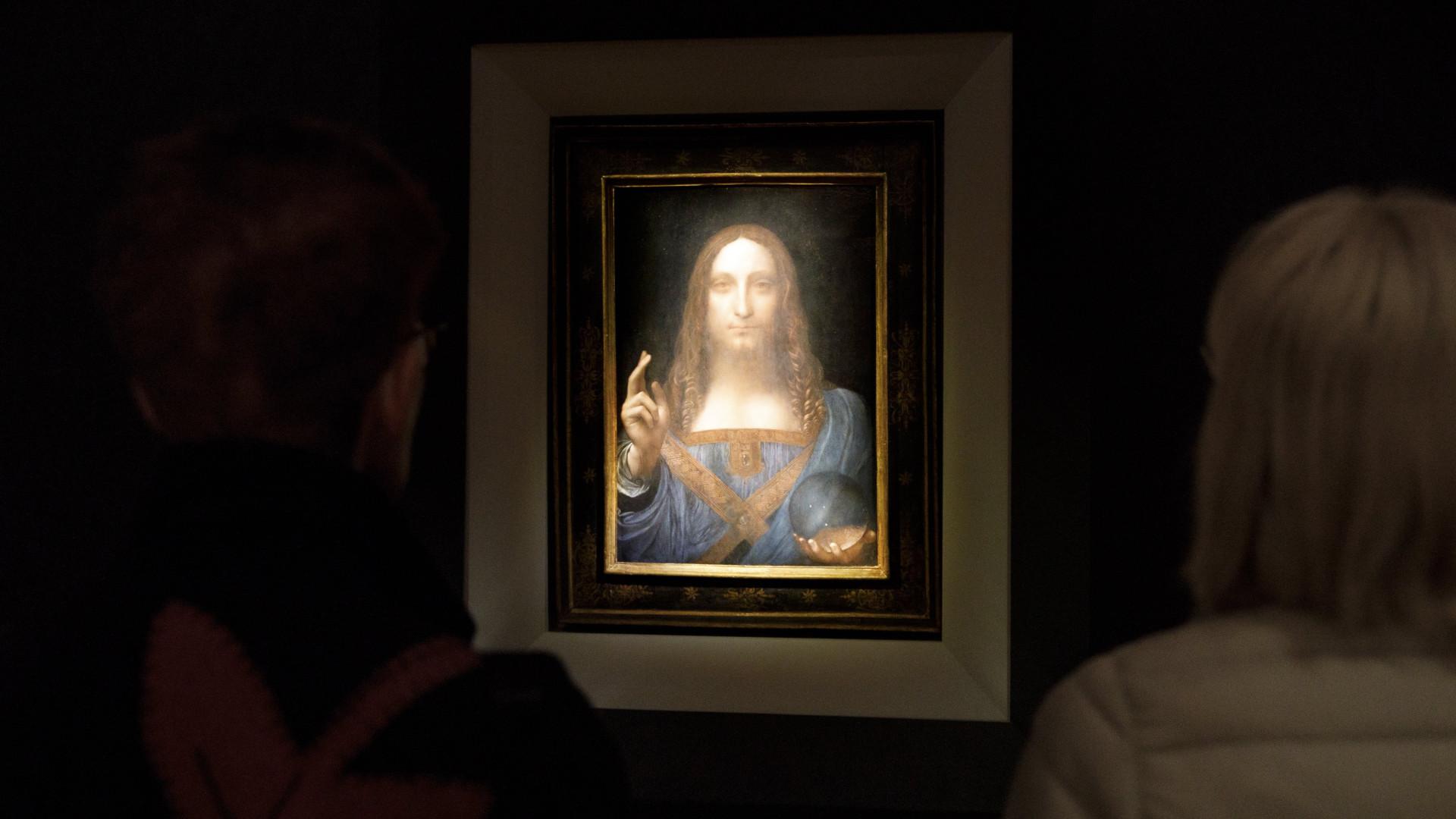 Quadro de Da Vinci vendido por valor recorde vai para museu em Abu Dhabi