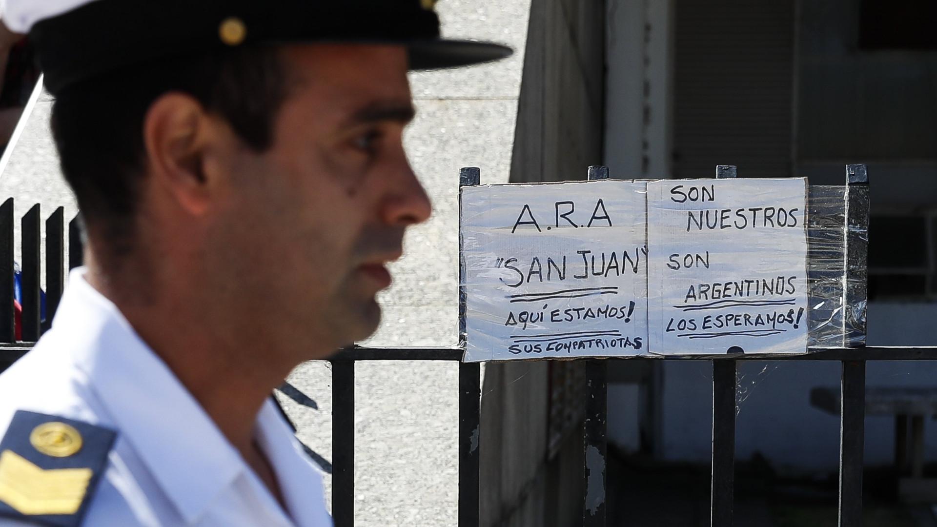 Argentina: Teria ocorrido uma explosão no submarino, diz Marinha