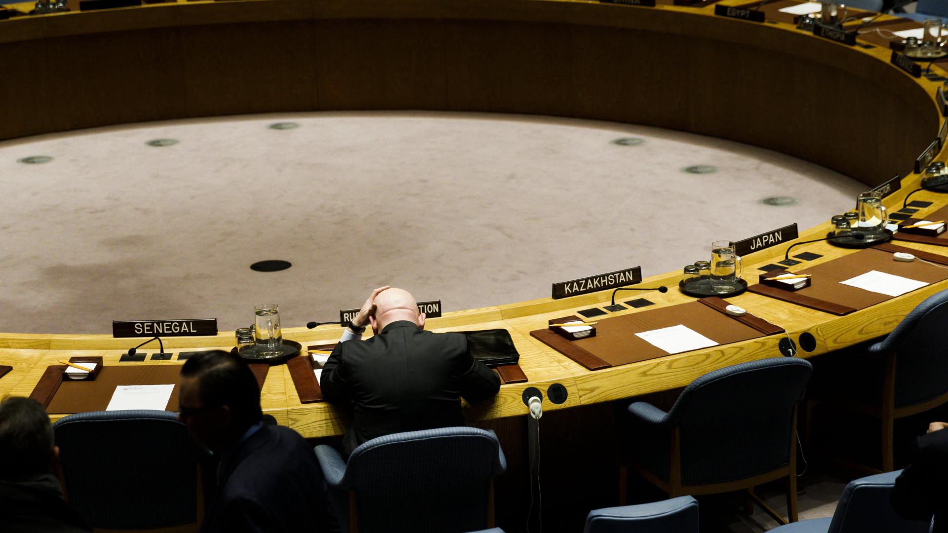 Conselho de Segurança da ONU vai reunir de urgência na sexta-feira