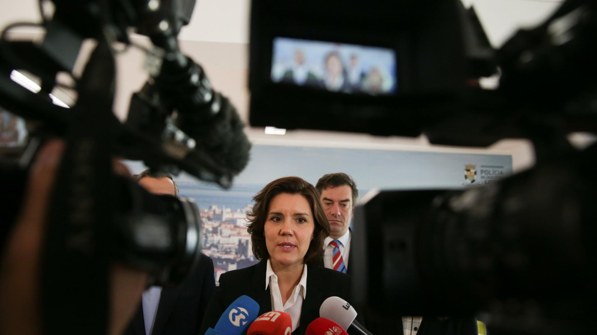 Cristas já felicitou Rui Rio pela vitória nas eleições diretas do PSD