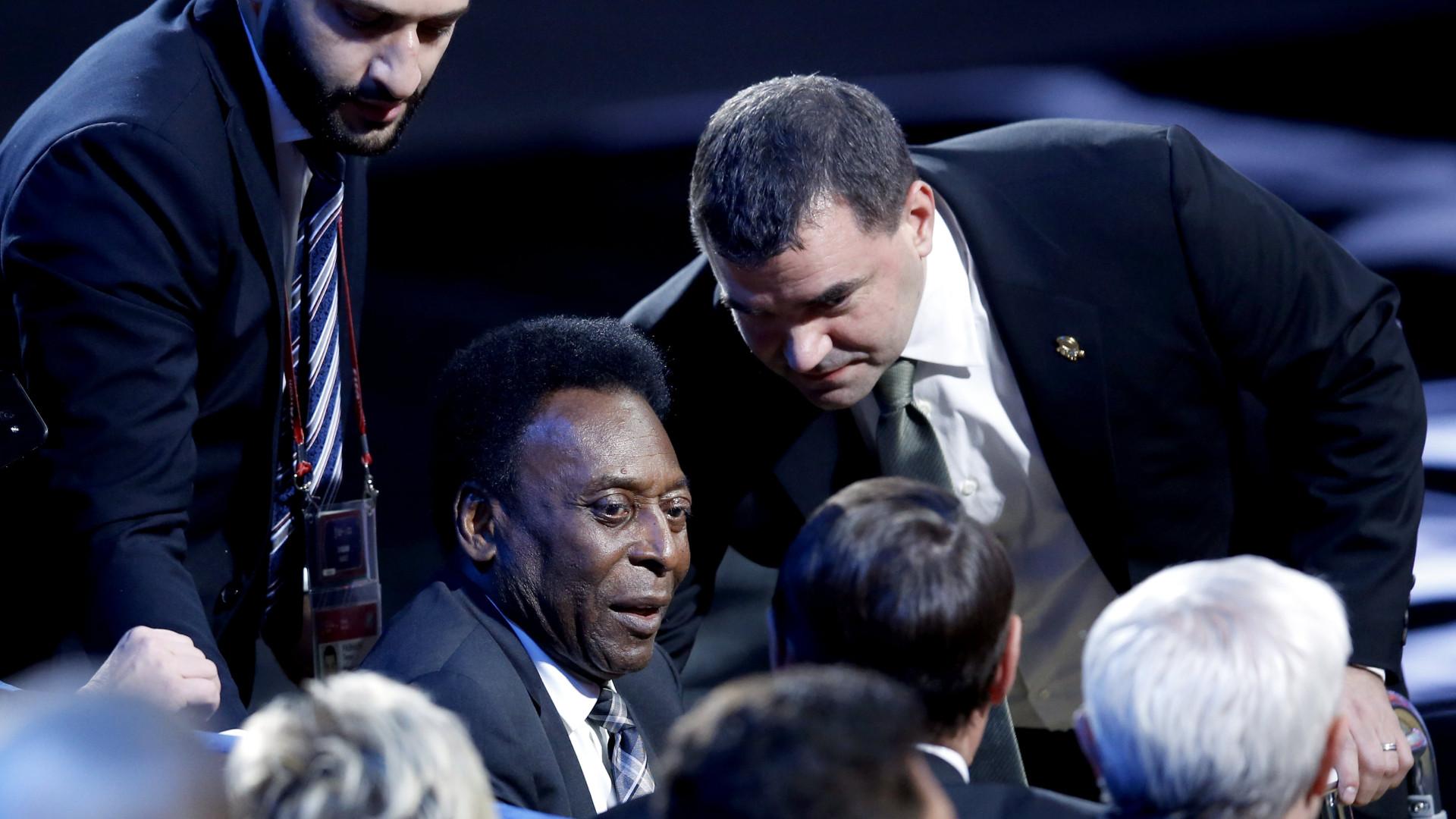 Pelé acredita no Brasil e na recuperação de Neymar para o Mundial2018