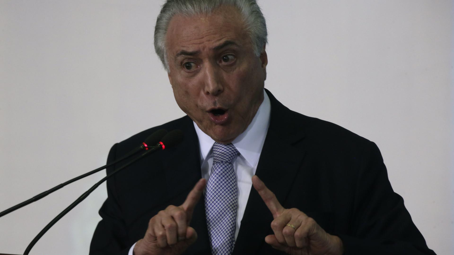 Presidente do Brasil teve alta do hospital