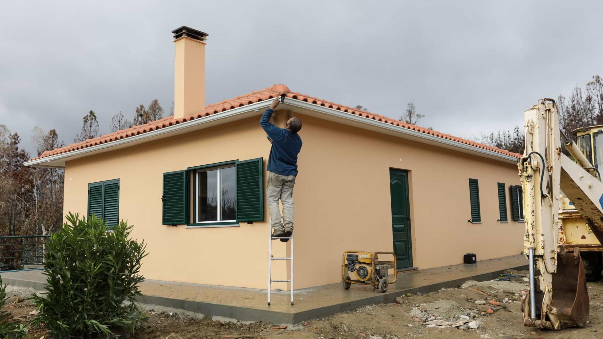 Concluídas 149 das 265 casas a reabilitar através do Fundo Revita