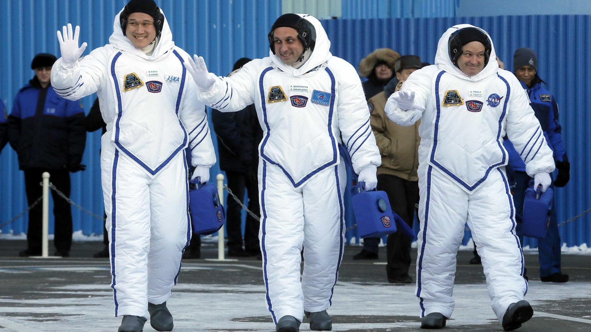 Soyus MS-07 lançada no Cazaquistão para a Estação Espacial Internacional