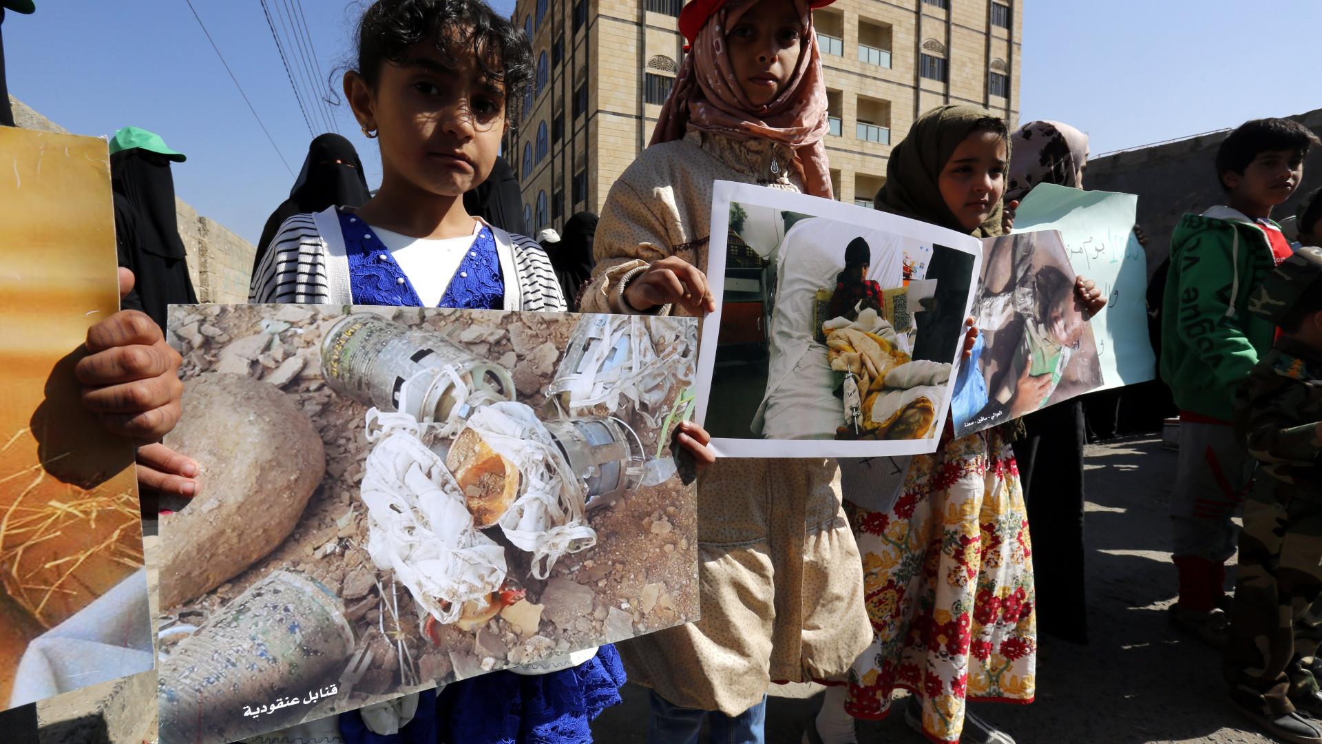 Mais de 5.000 crianças morreram no Iémen desde março de 2015
