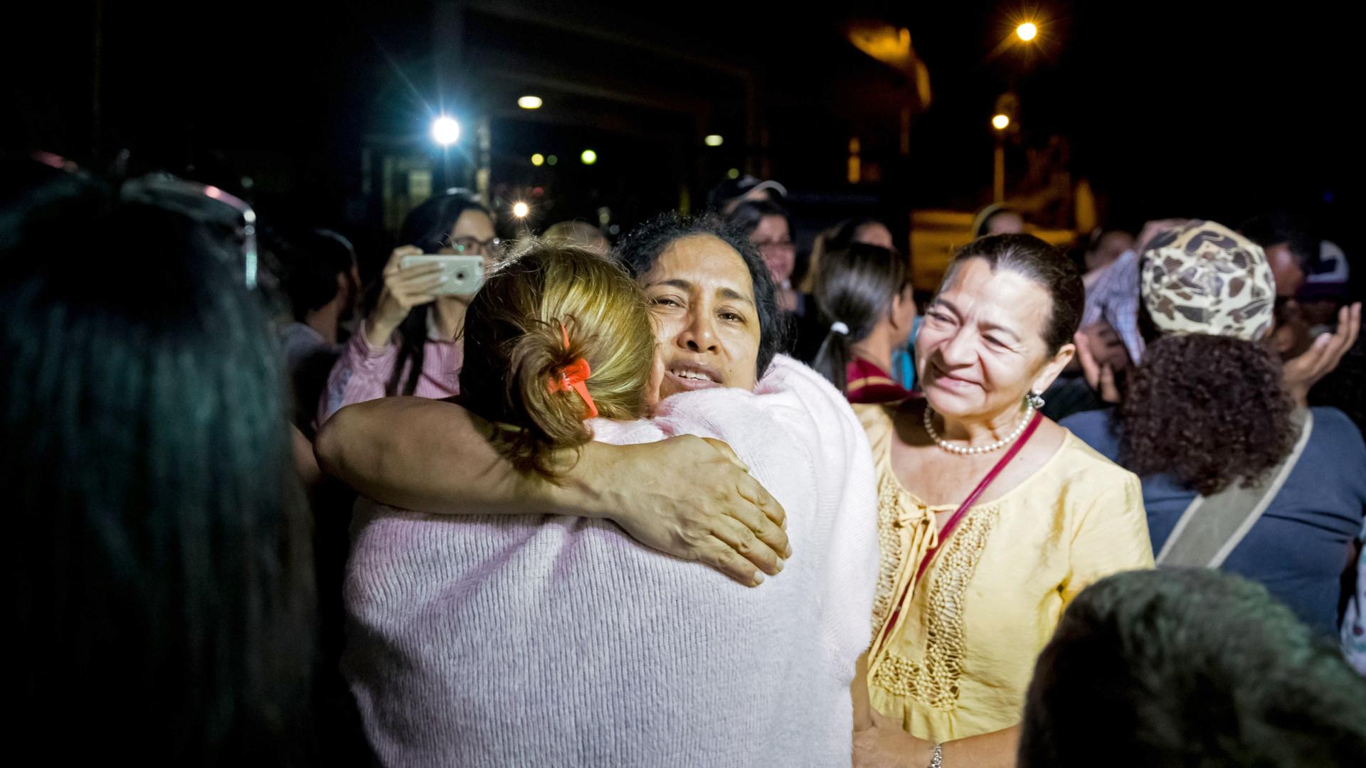 Venezuela liberta 44 prisioneiros políticos durante o fim de semana