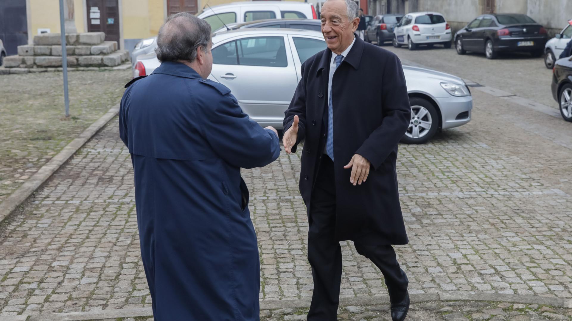 Marcelo convida portugueses a irem a Pedrógão