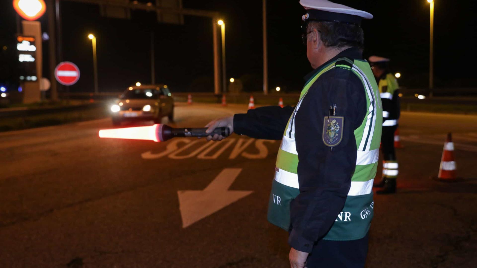 Mais de 400 detidos condutores detidos. Maioria sob efeito do álcool